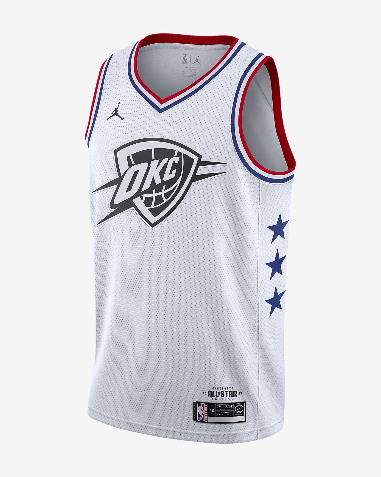 Russell Westbrook All-Star Edition Swingman Men's Jordan NBA Connected Jersey