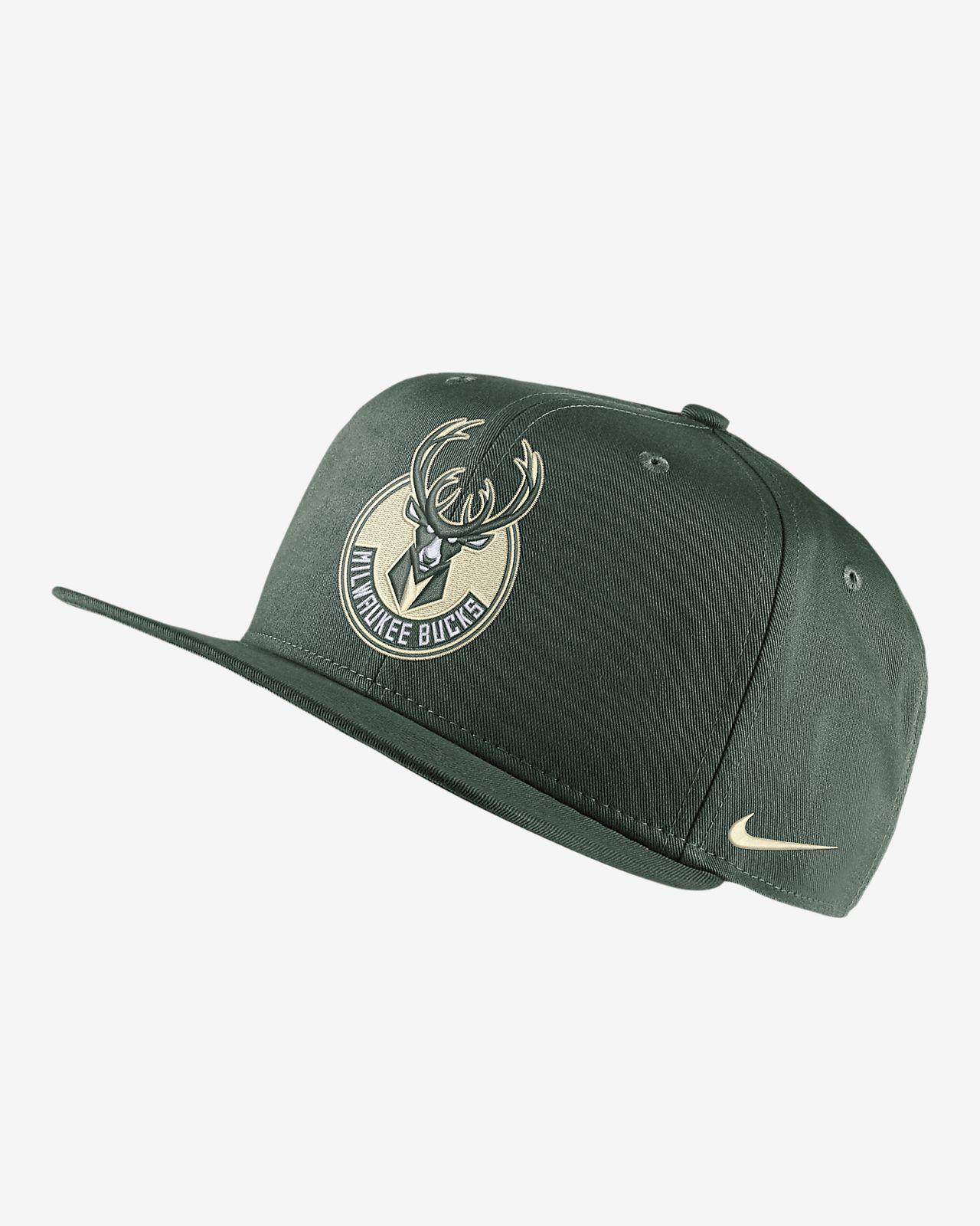 Gorra de la NBA Milwaukee Bucks Nike Pro