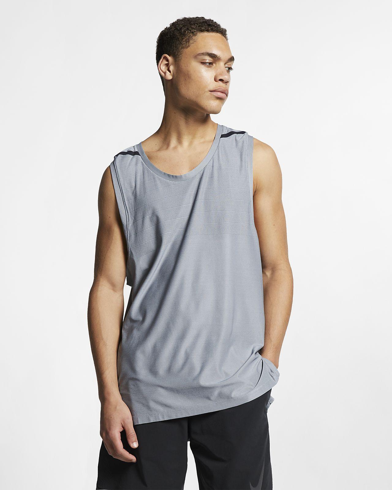 Męska koszulka treningowa bez rękawów Nike Dri-FIT Tech Pack