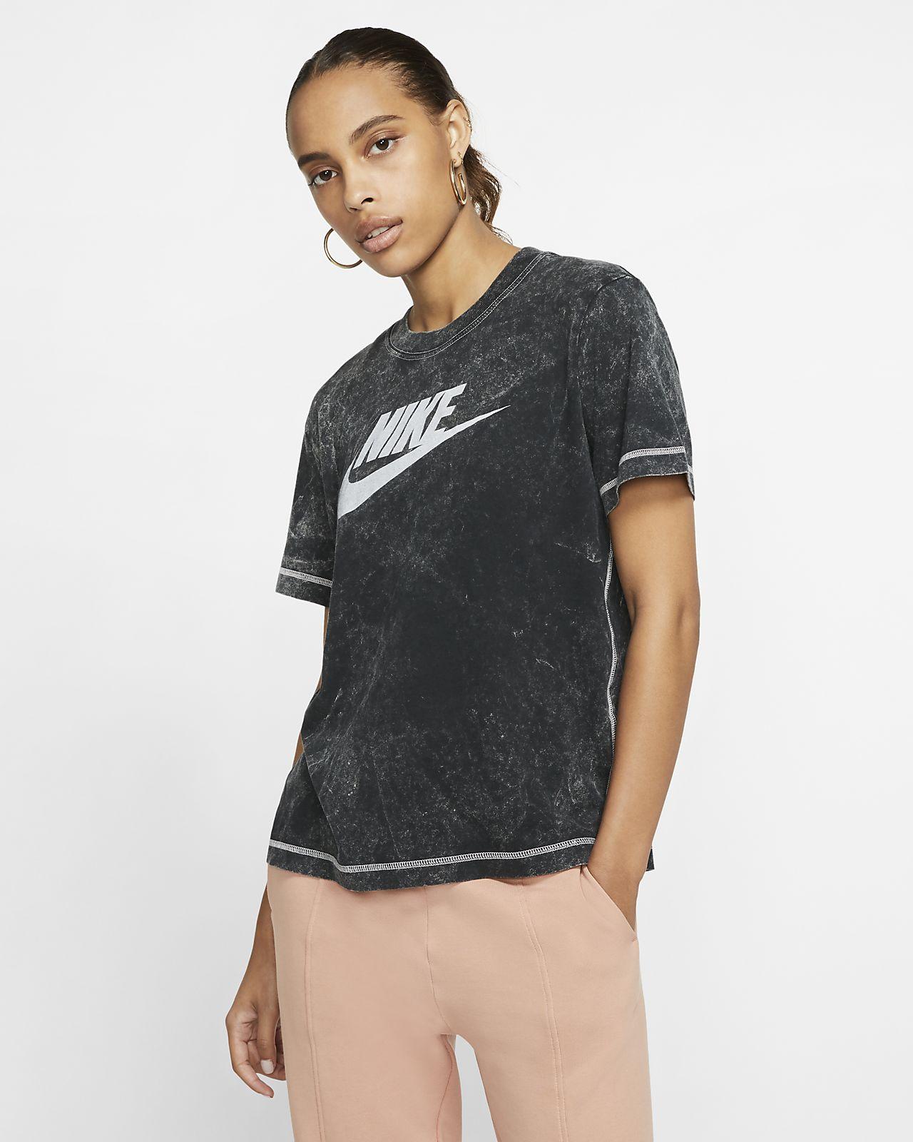 Prenda para la parte superior de manga corta para mujer Nike Sportswear