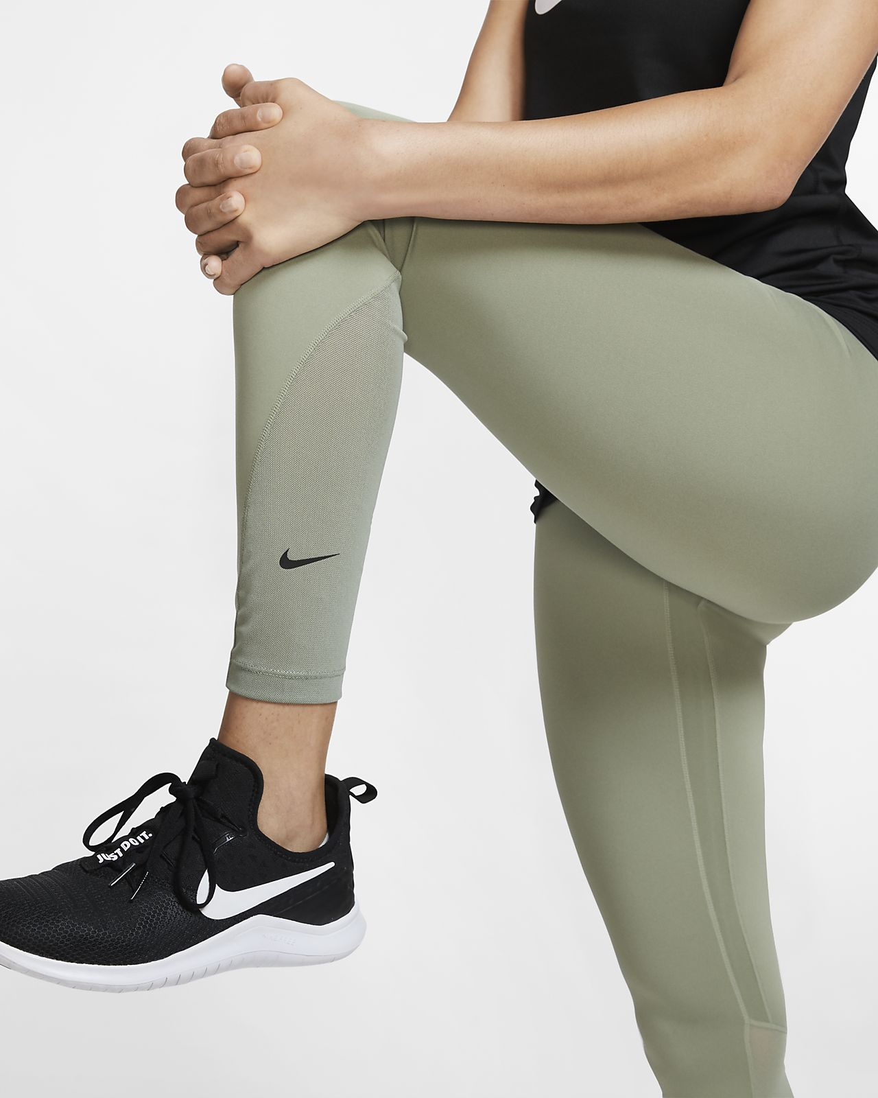 size 40 a24cb ec498 ... Nike One Women s 7 8 Training Tights