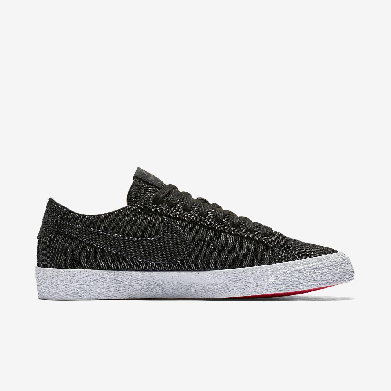 Chaussure de skateboard Nike SB Zoom Blazer Low Canvas Deconstructed pour Homme