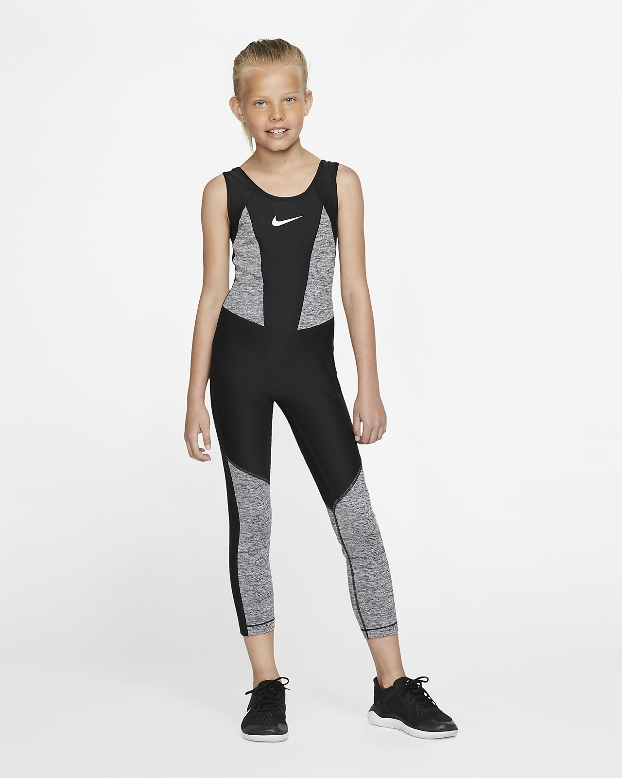 Nike Studio Trainings-Bodysuit für ältere Kinder (Mädchen)