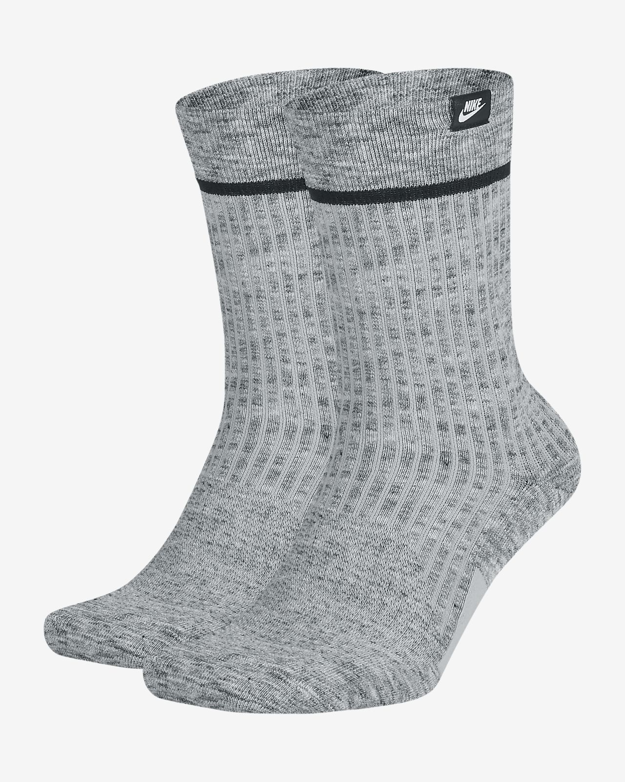 6cd9ece0826 Nike SNKR Sox Essential Crew Socks (2 Pairs). Nike.com