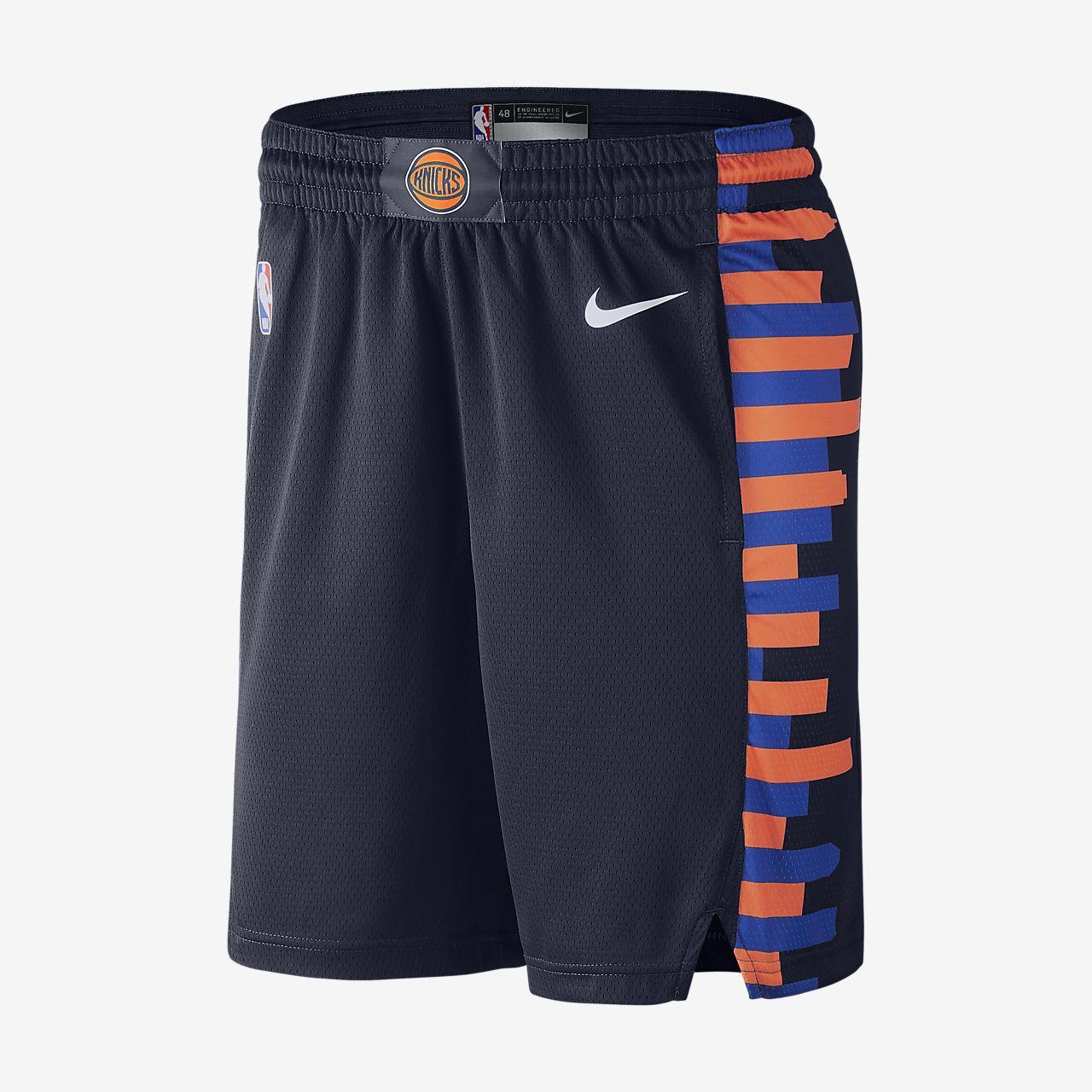 กางเกงขาสั้น Nike NBA ผู้ชาย New York Knicks City Edition Swingman
