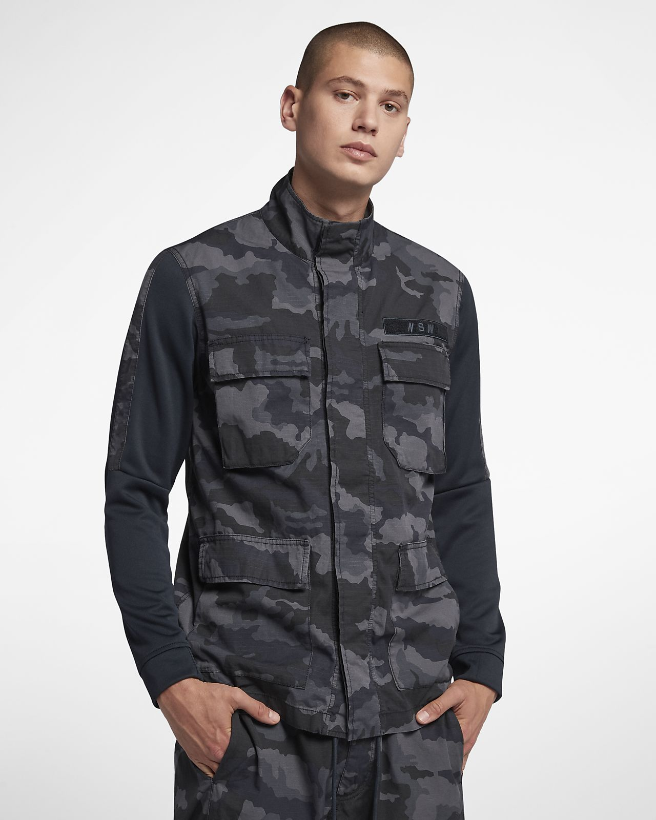 Nike Sportswear NSW Men s Camo Jacket. Nike.com a4330390533