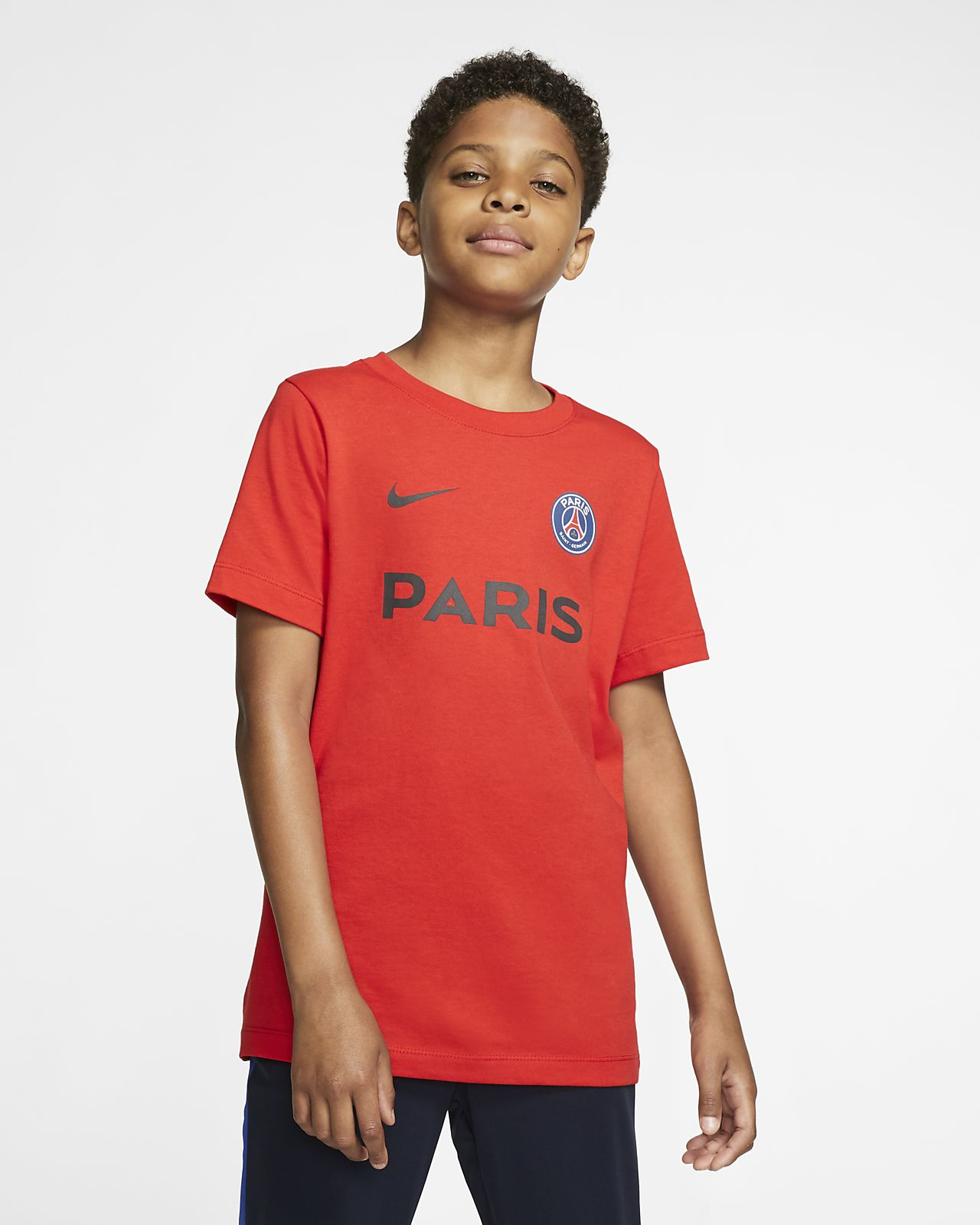PSG-T-shirt til store børn