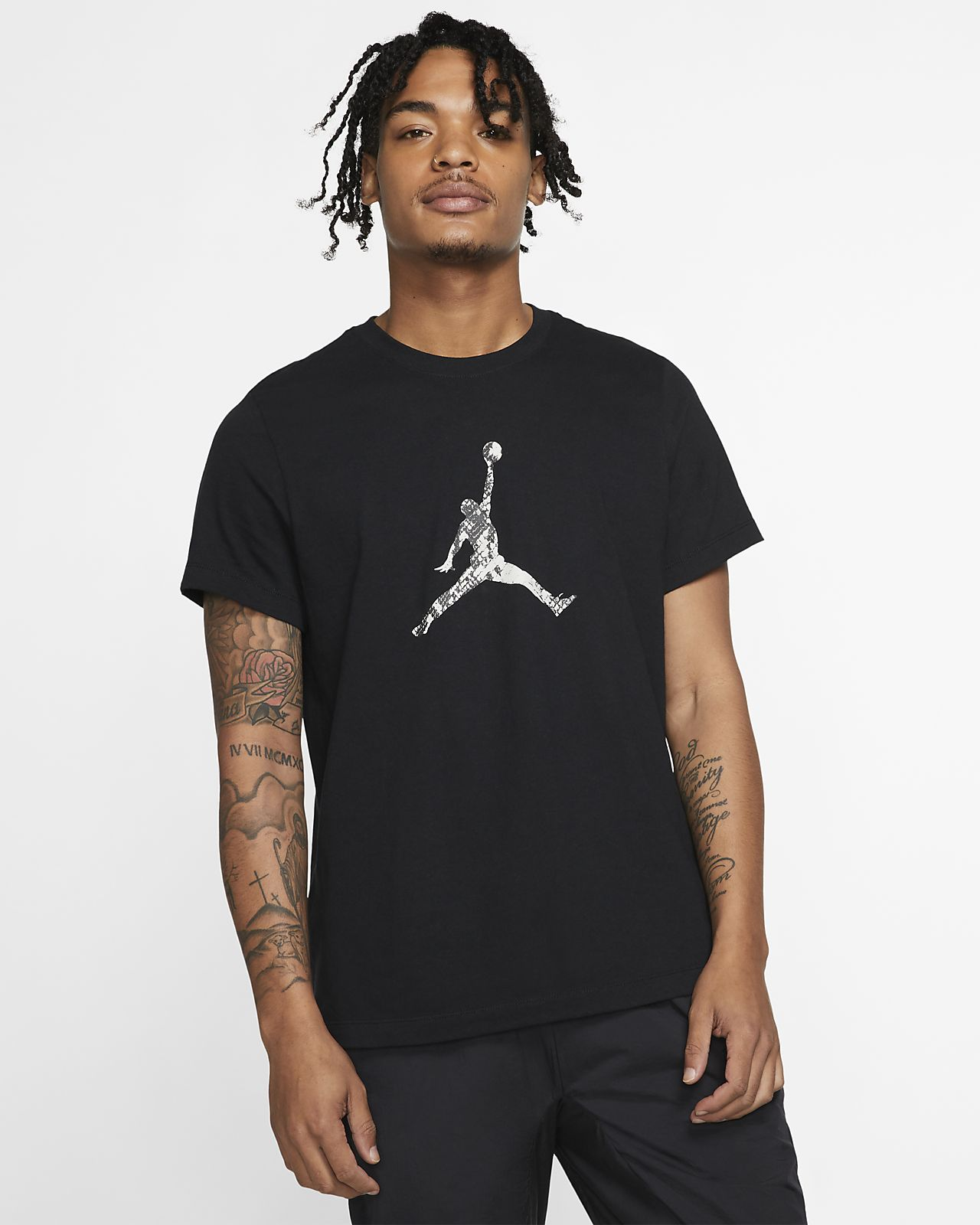 db058300a57 Jordan Legacy AJ11 Snakeskin Men's T-Shirt. Nike.com