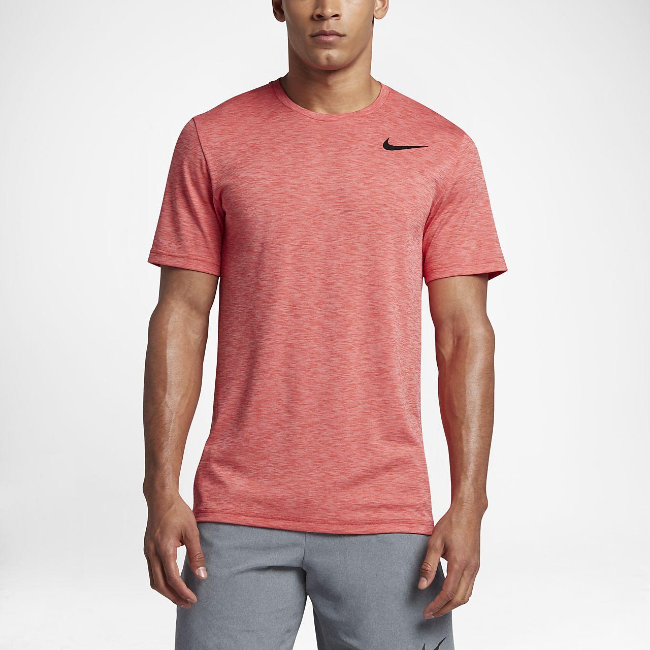 Nike Breathe 男款短袖訓練上衣