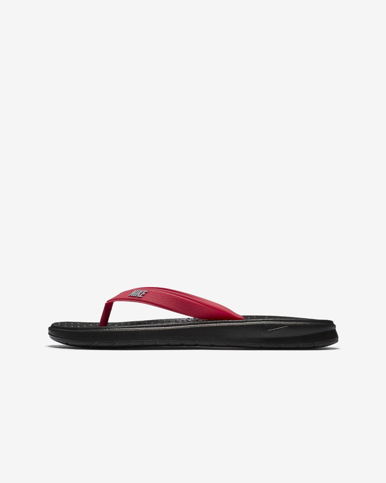 Ny Ankomst Nike Skor Barn Svart Sunray Adjust Sandal Nike