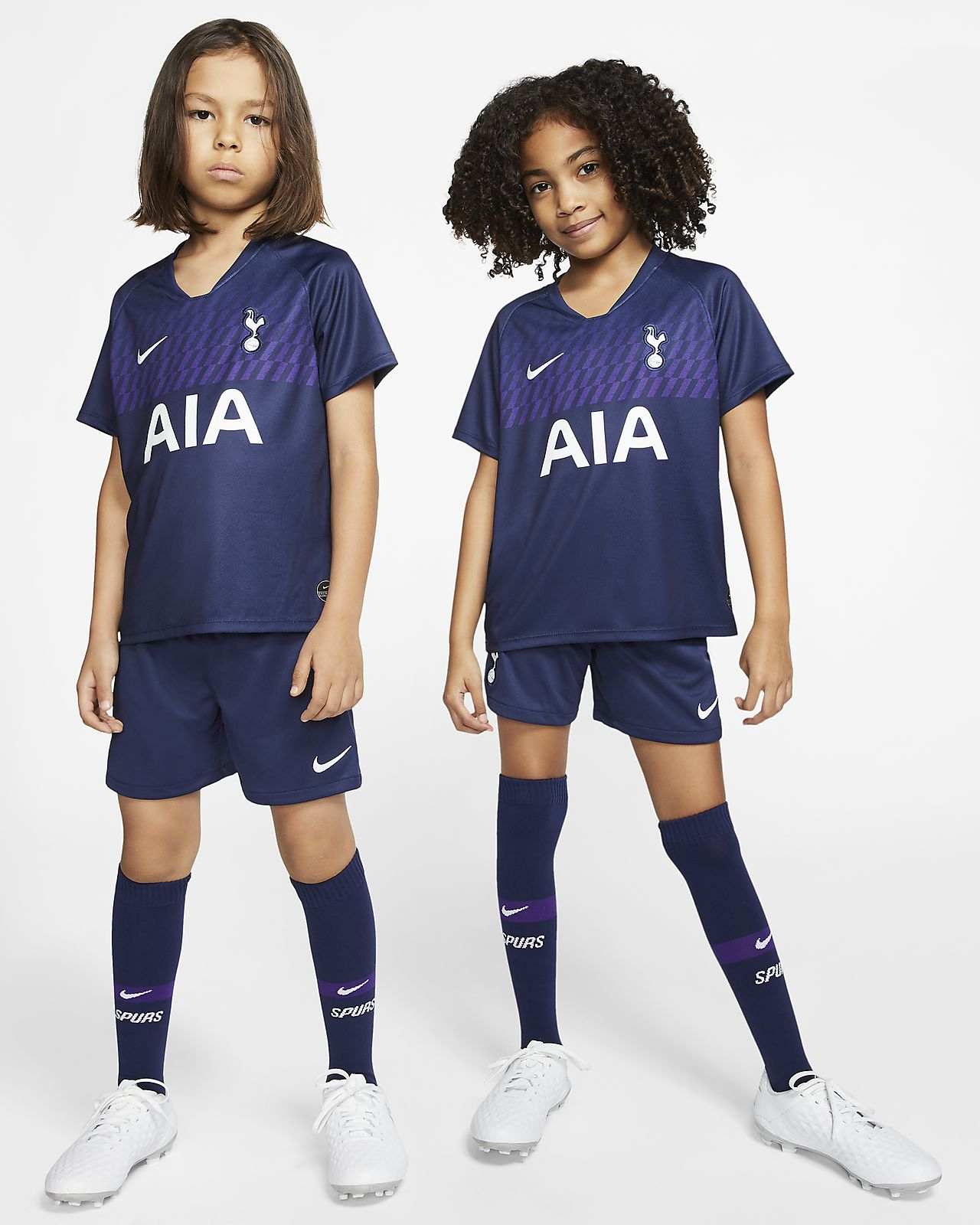 Kit de visitante para niños talla pequeña del Tottenham Hotspur 2019/20