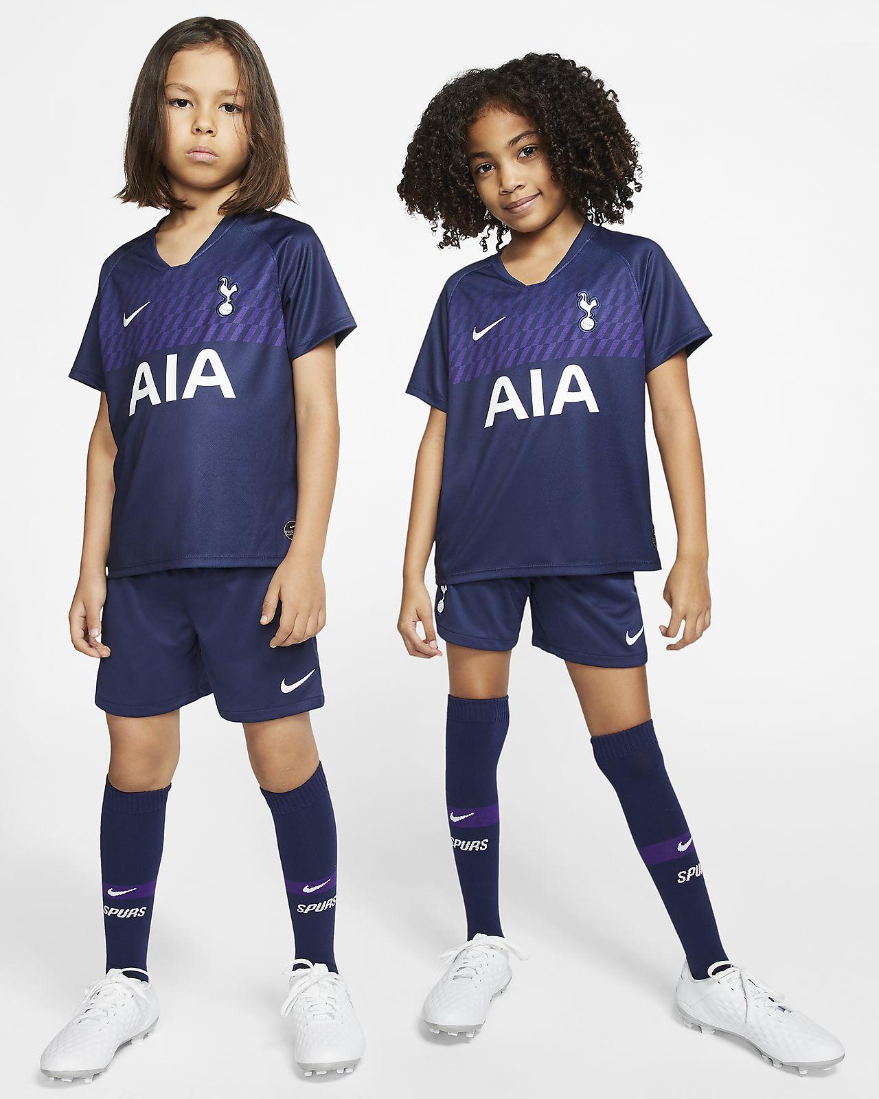 Tenue de football Tottenham Hotspur 2019/20 Away pour Jeune enfant