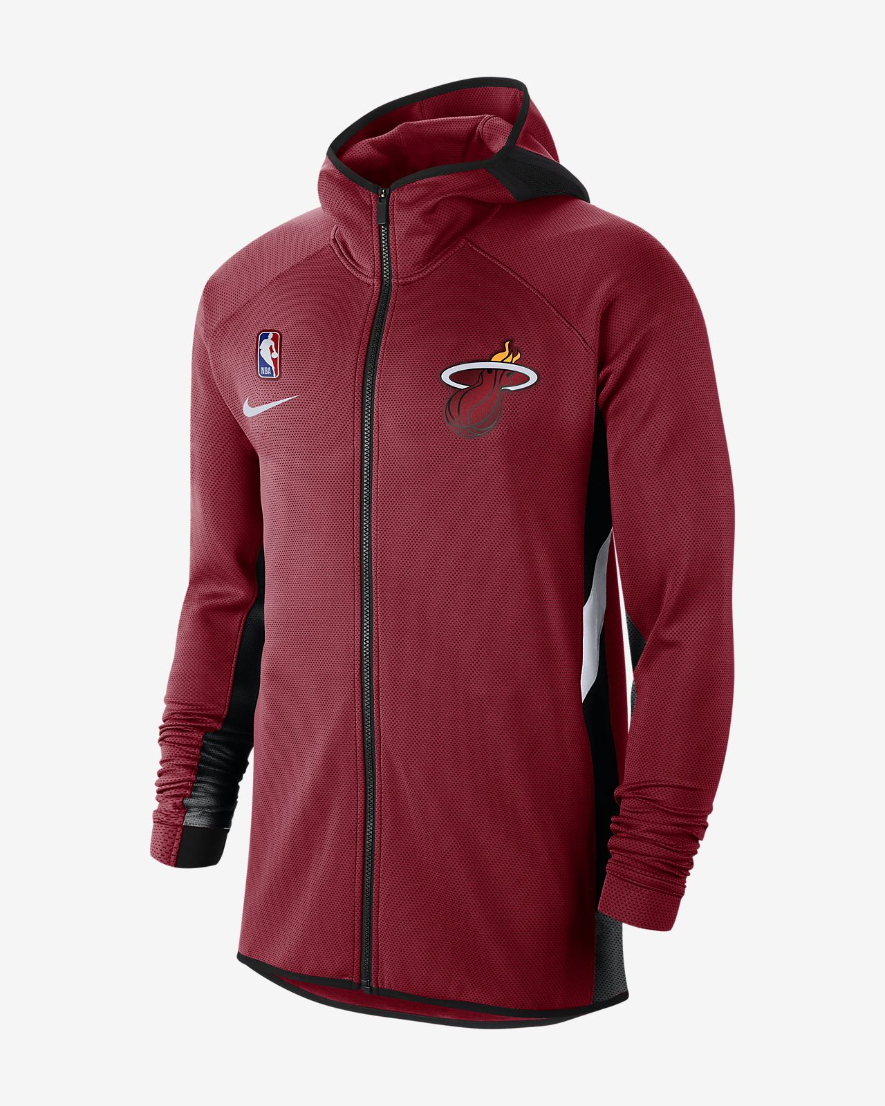 Sweat à capuche NBA Miami Heat Nike Therma Flex Showtime pour Homme