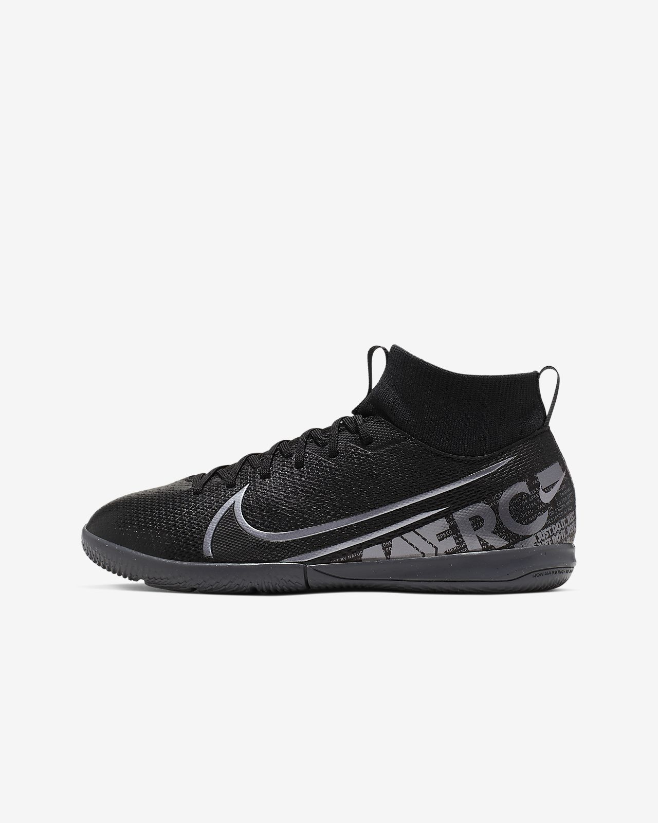 Nike Jr. Mercurial Superfly 7 Academy IC Kids' Indoor/Court Soccer Shoe