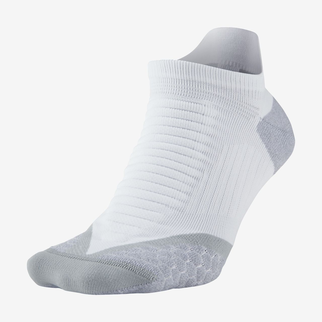 ... Nike Elite Cushioned No-Show Tab Running Socks