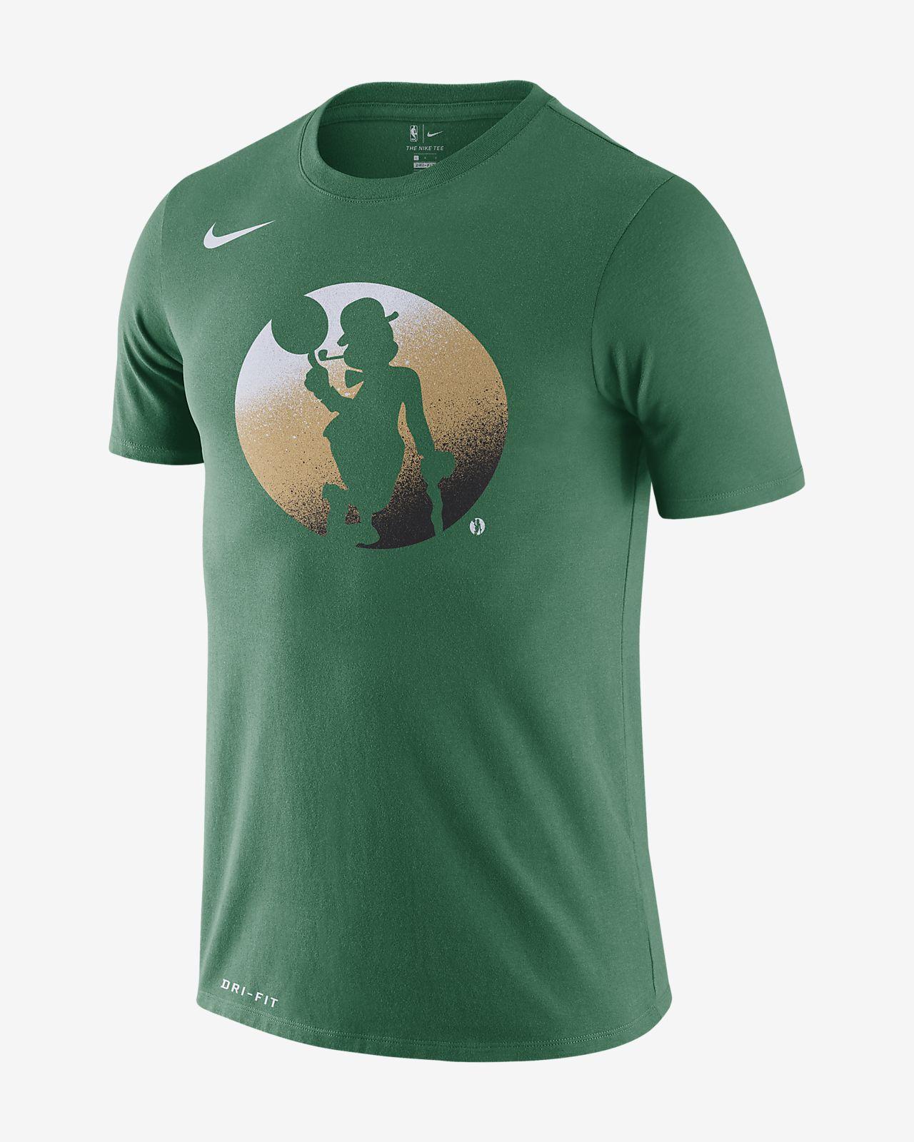 Playera de la NBA para hombre Boston Celtics Nike Dri-FIT. Nike.com CL d4fe84515d0b9