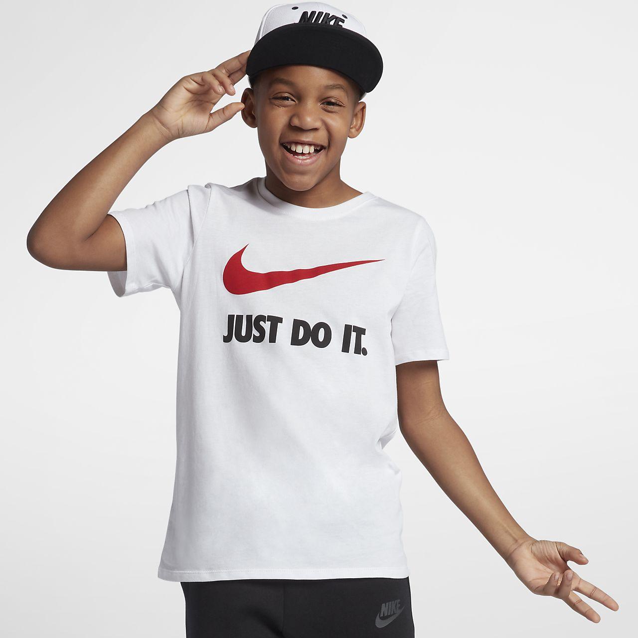 Nike Just Do It Swoosh Camiseta - Niño. Nike.com ES 1608fcd146c3c