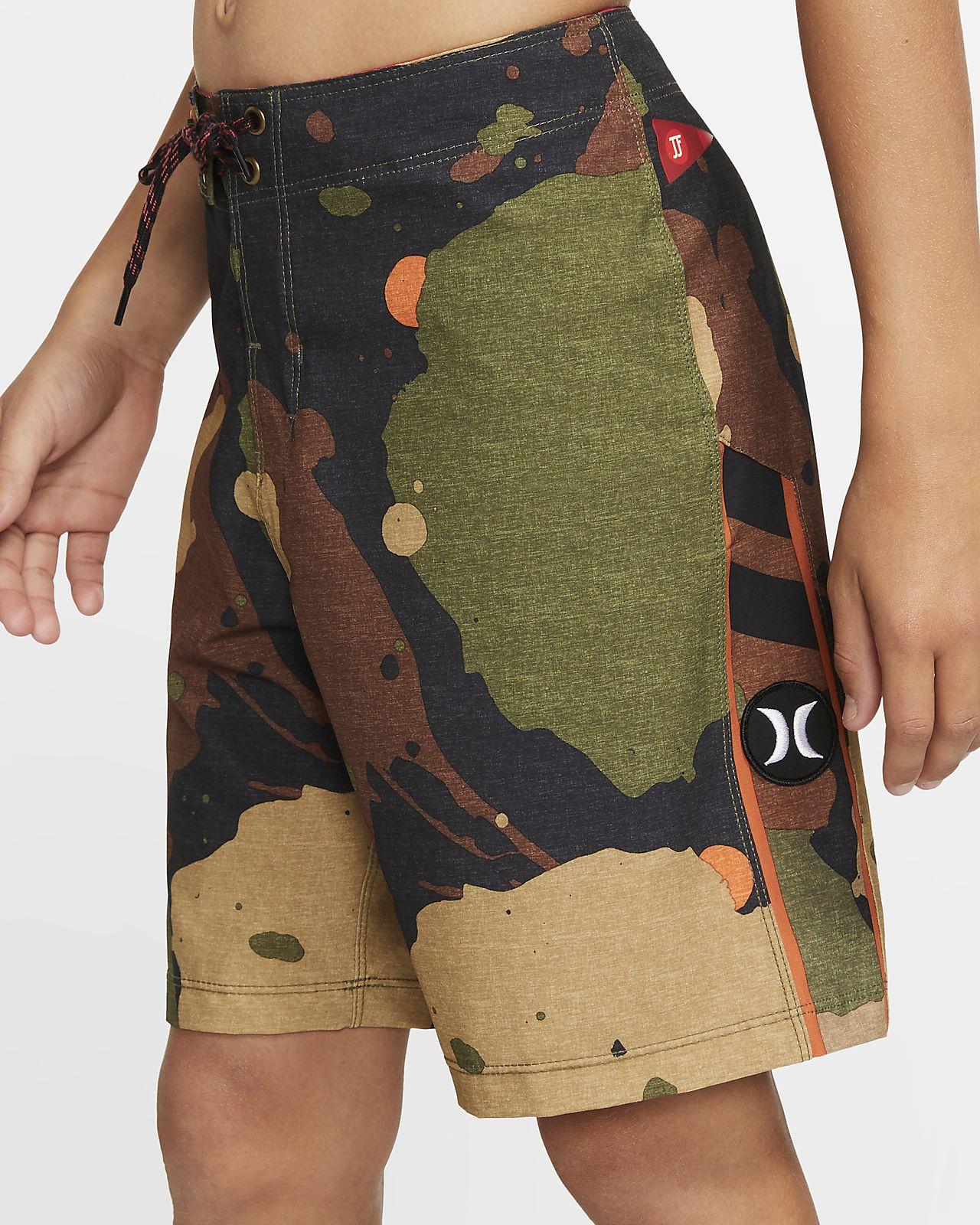 Shorts de playa de 41 cm para niño Hurley Phantom JJF Recruit