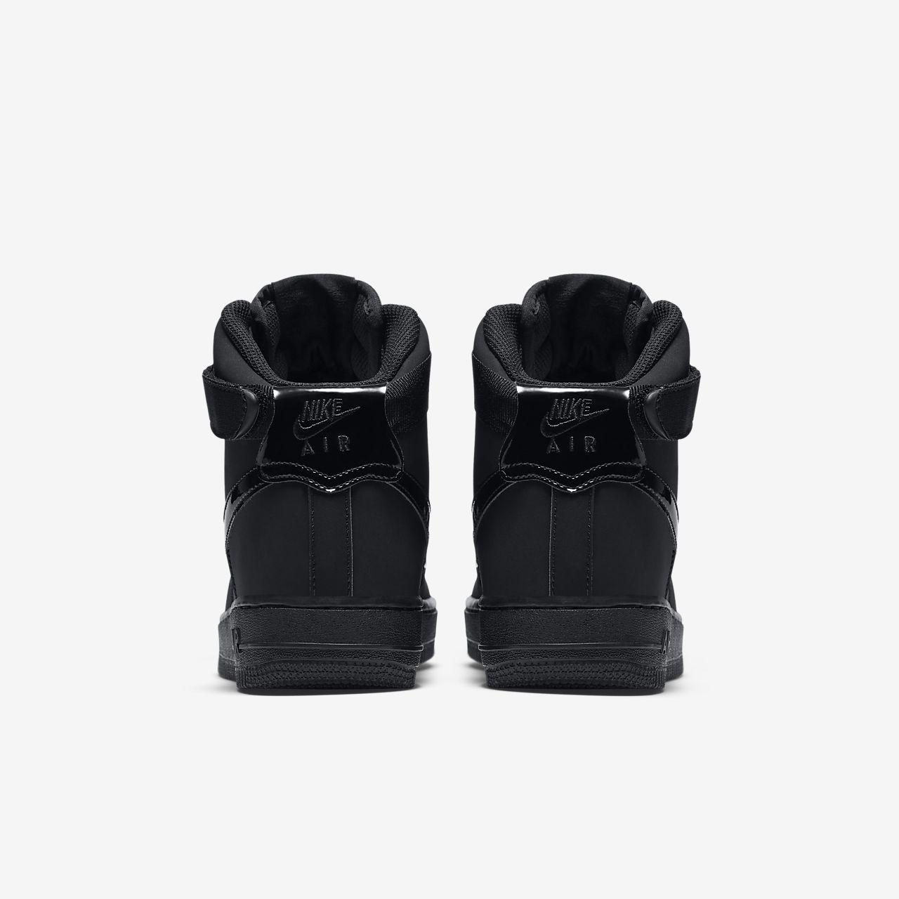 Nike Air Force 1 High 653998 001 Big Kids Us 4.5y ~ 6y