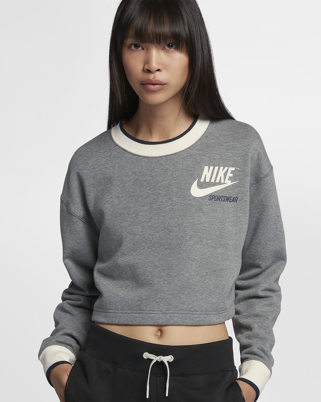 nike t-shirt damen crop