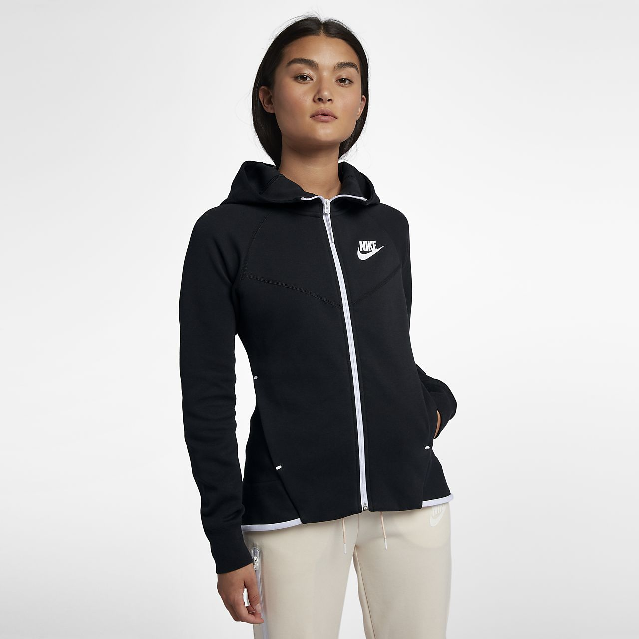 e06b5ac6 Nike Sportswear Tech Fleece Windrunner hettejakke for dame. Nike.com NO