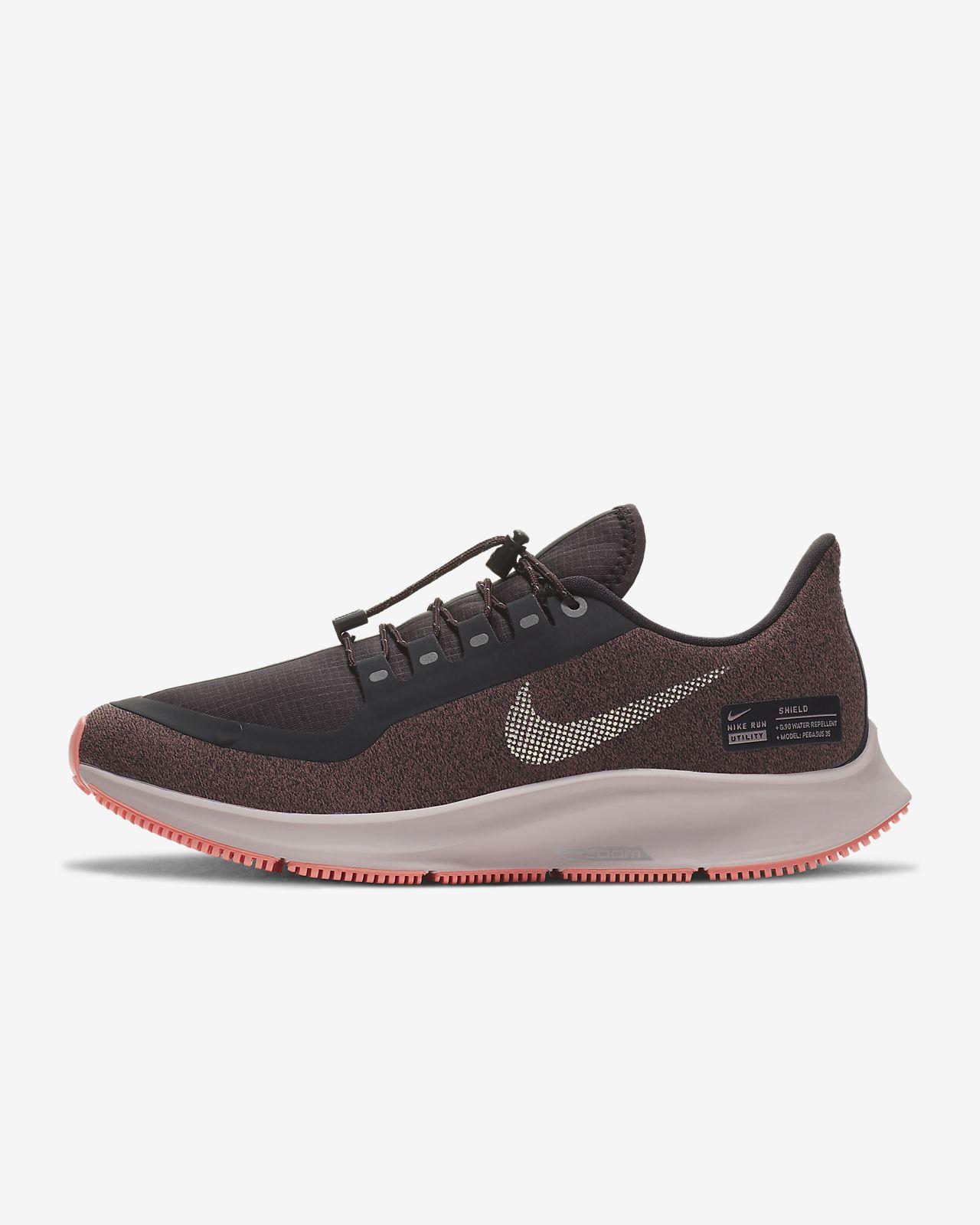 buy popular ae3a2 460da ... Chaussure de running Nike Air Zoom Pegasus 35 Shield Water-Repellent  pour Femme
