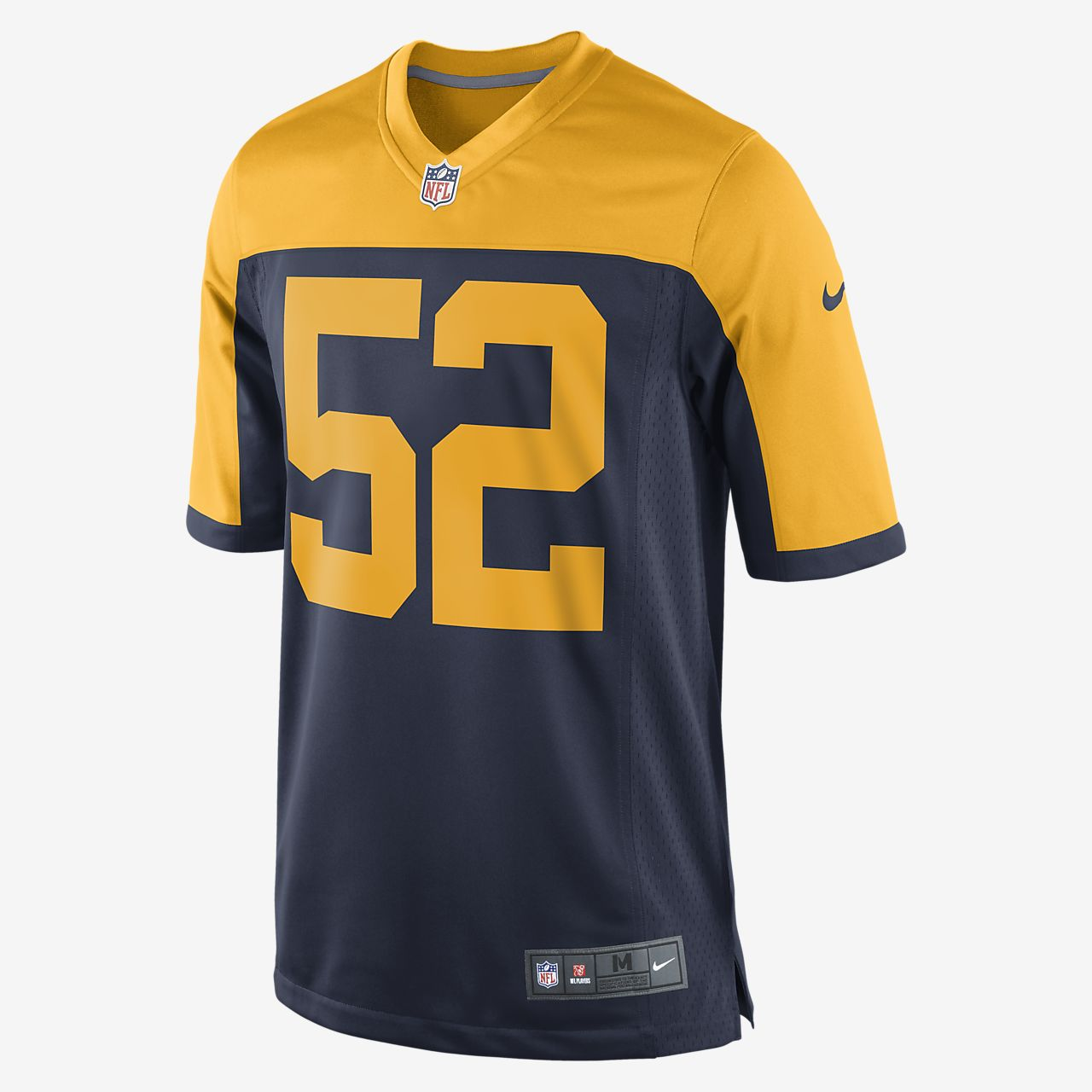 39f09bced NFL Green Bay Packers (Clay Matthews) Men s Football Home Game ...