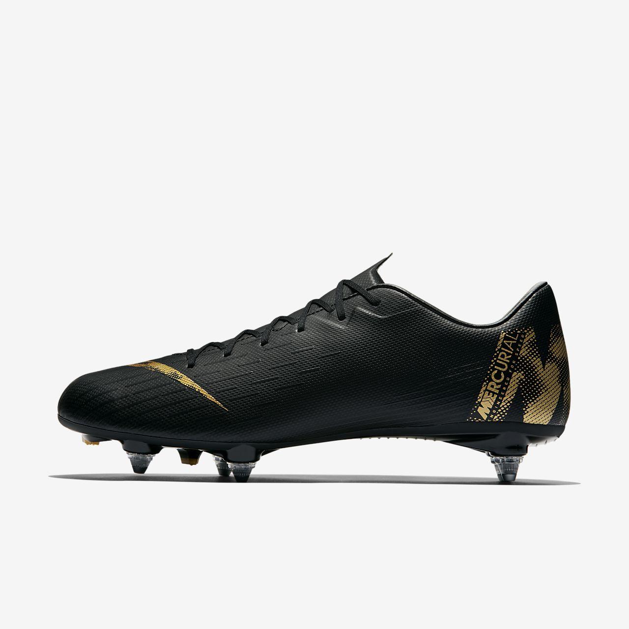 dc23e17db8 ... Chuteiras de futebol para terreno mole Nike Mercurial Vapor XII Academy  SG-PRO