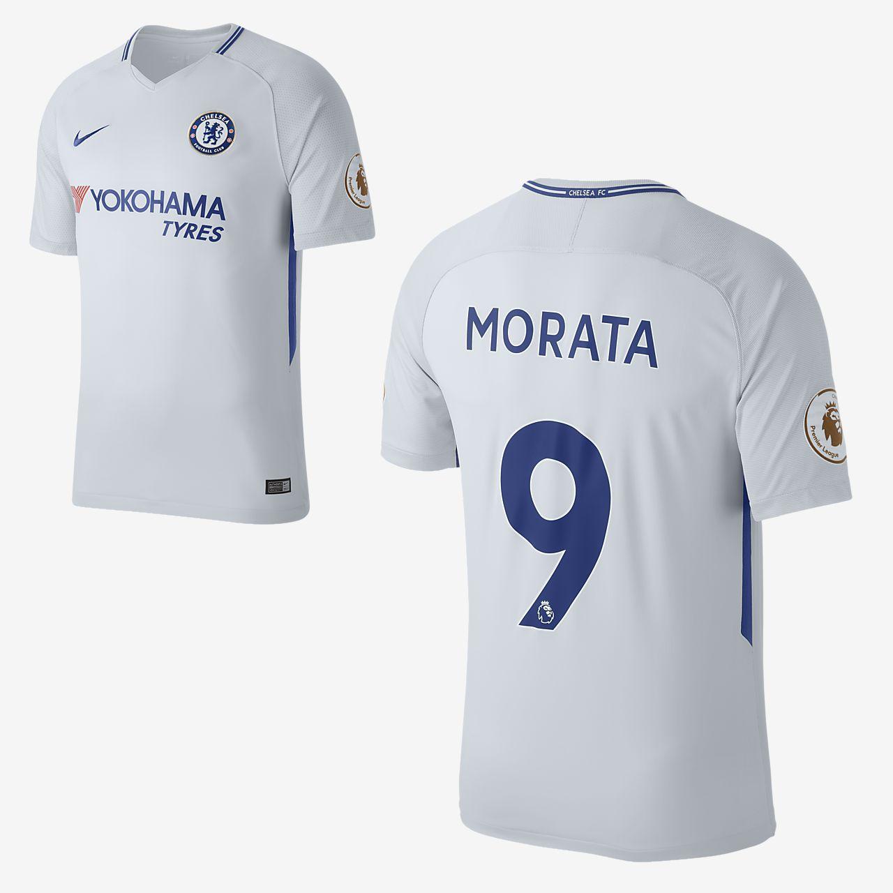 pretty nice 4edc1 7ff1c 2017/18 Chelsea FC Stadium Away (Álvaro Morata) Men's Football Shirt