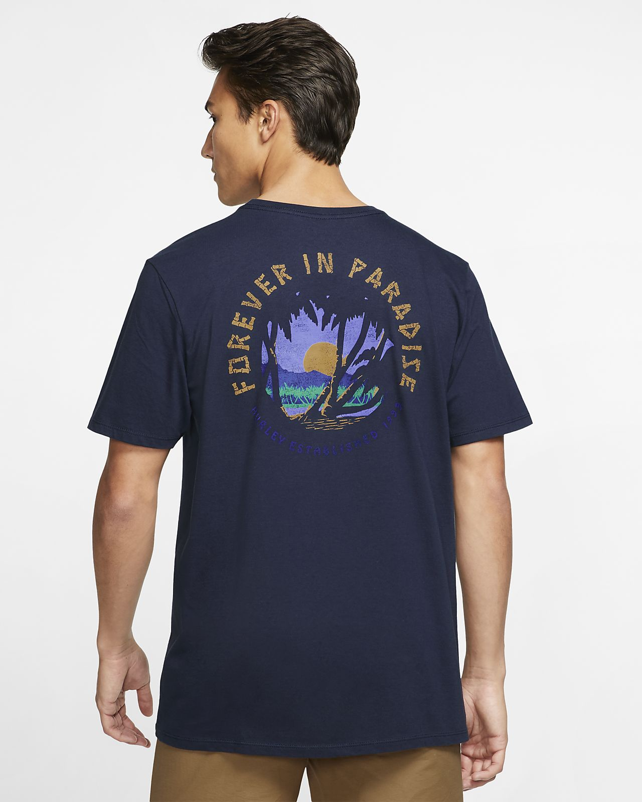 T-shirt męski Hurley Premium Forever Paradise