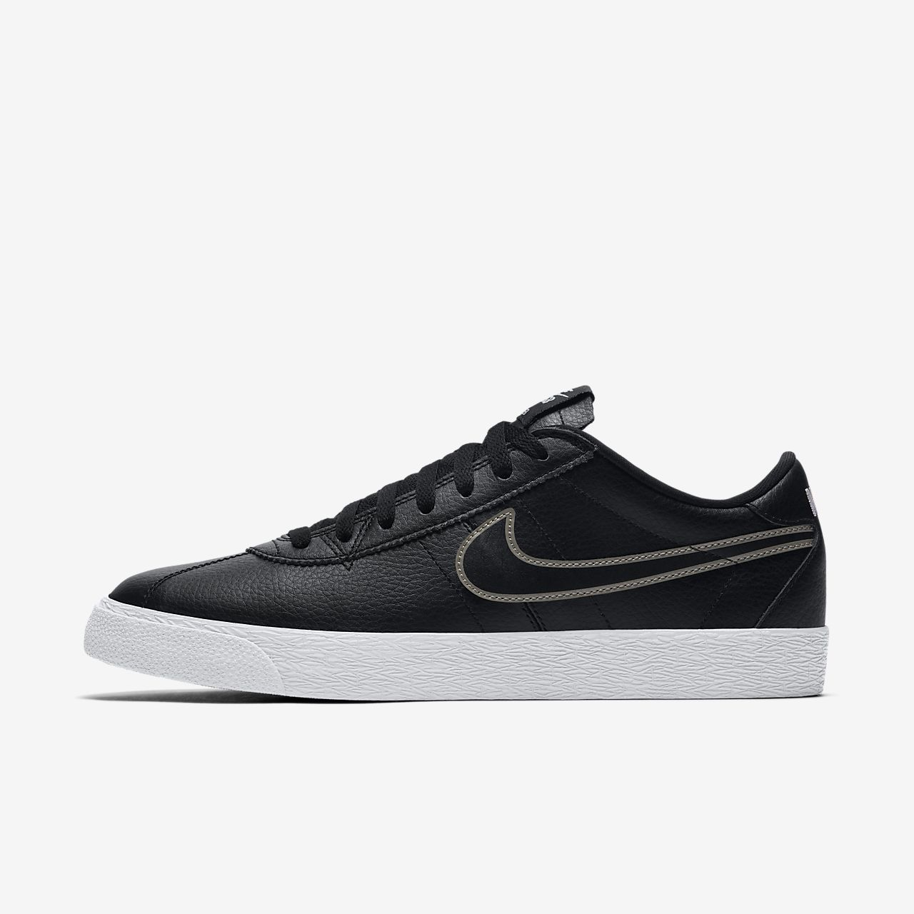 da45d2f21f1f boutique Pas Cher Excellente Nike SB Zoom Bruin Chaussure - black white  Vente Paiement De Visa