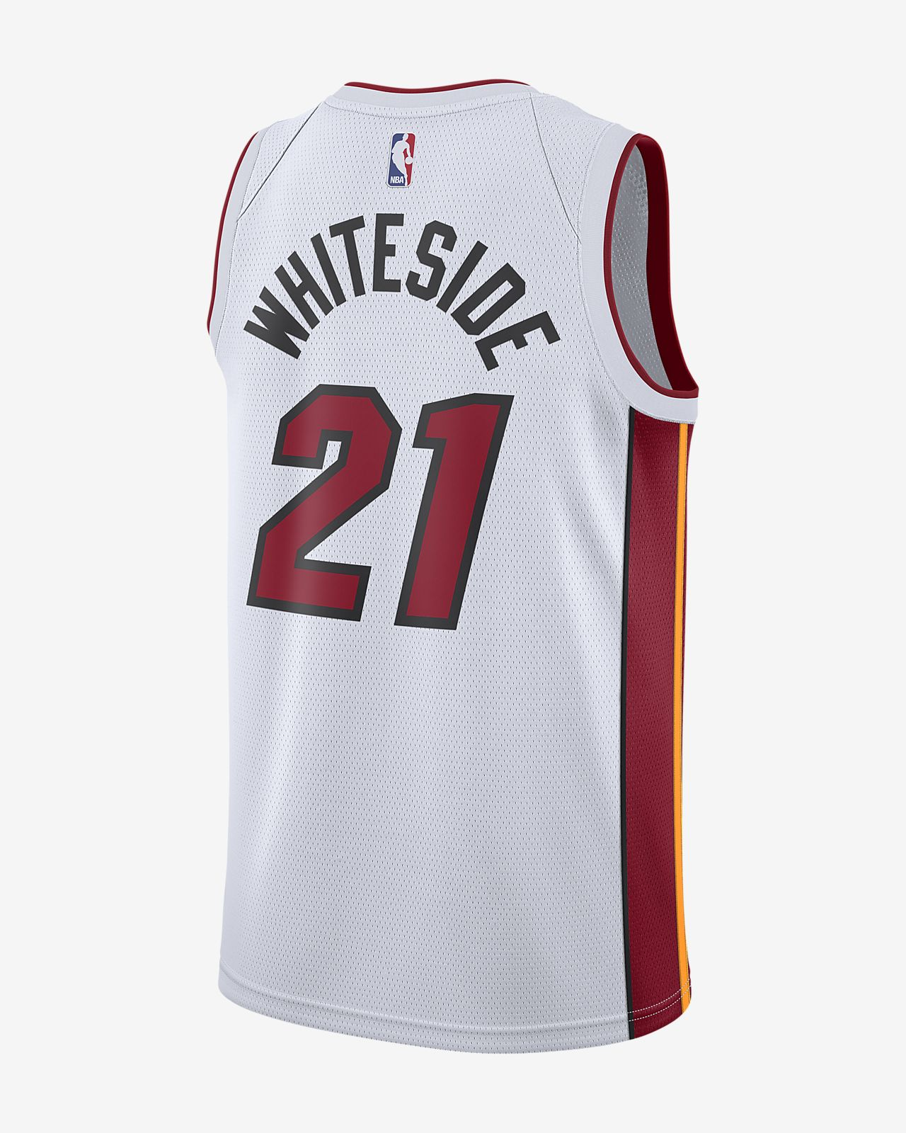 3edf6803a6d0 ... Hassan Whiteside Association Edition Swingman (Miami Heat) Men s Nike  NBA Connected Jersey