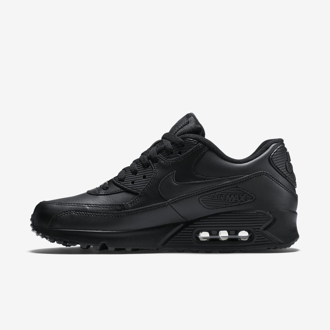 nike air max 90 leather men 39 s shoe. Black Bedroom Furniture Sets. Home Design Ideas