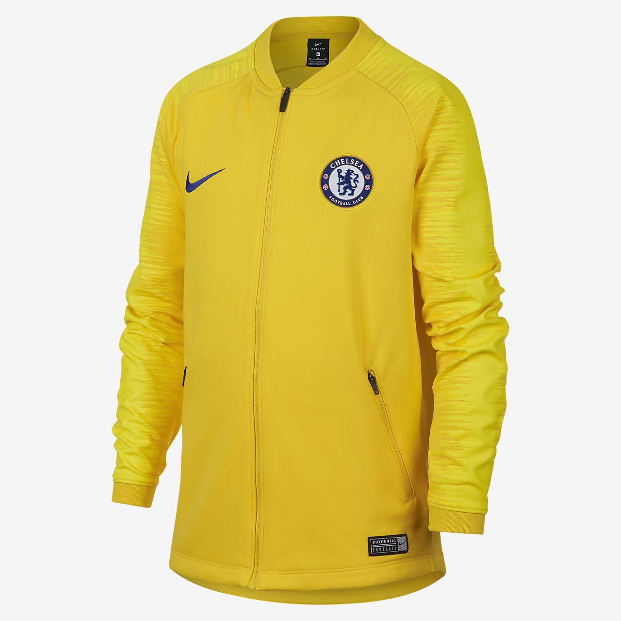 Fotbalová bunda Chelsea FC Anthem pro větší děti. Nike.com CZ d4d5c0af90c