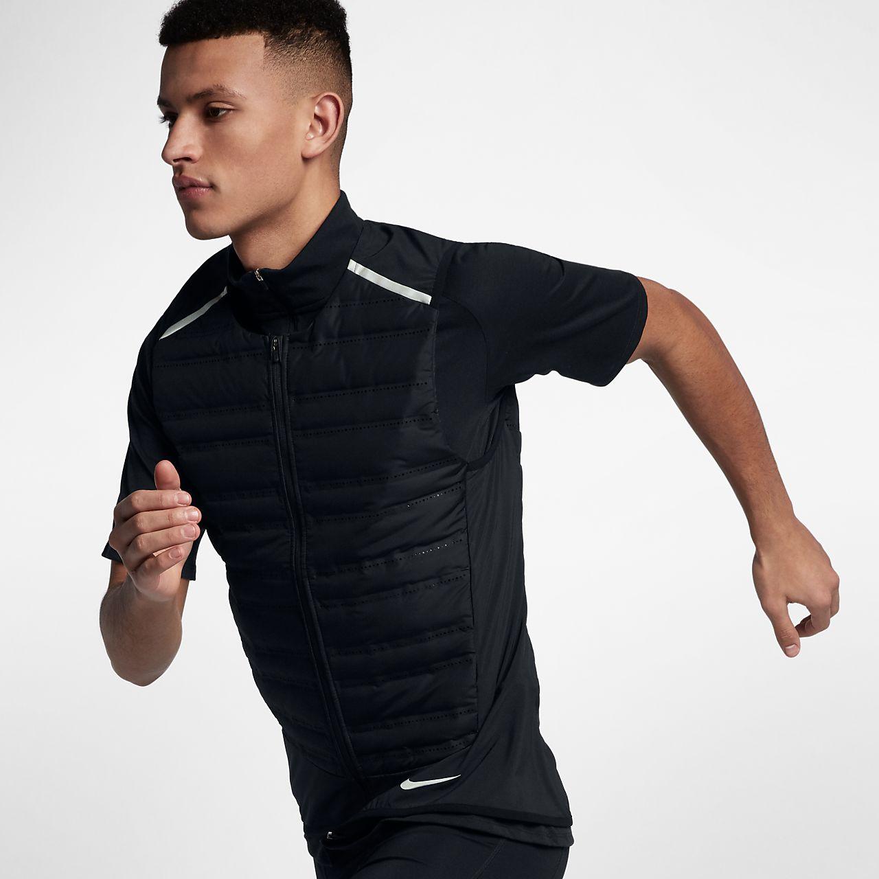 Męski bezrękawnik do biegania Nike AeroLoft