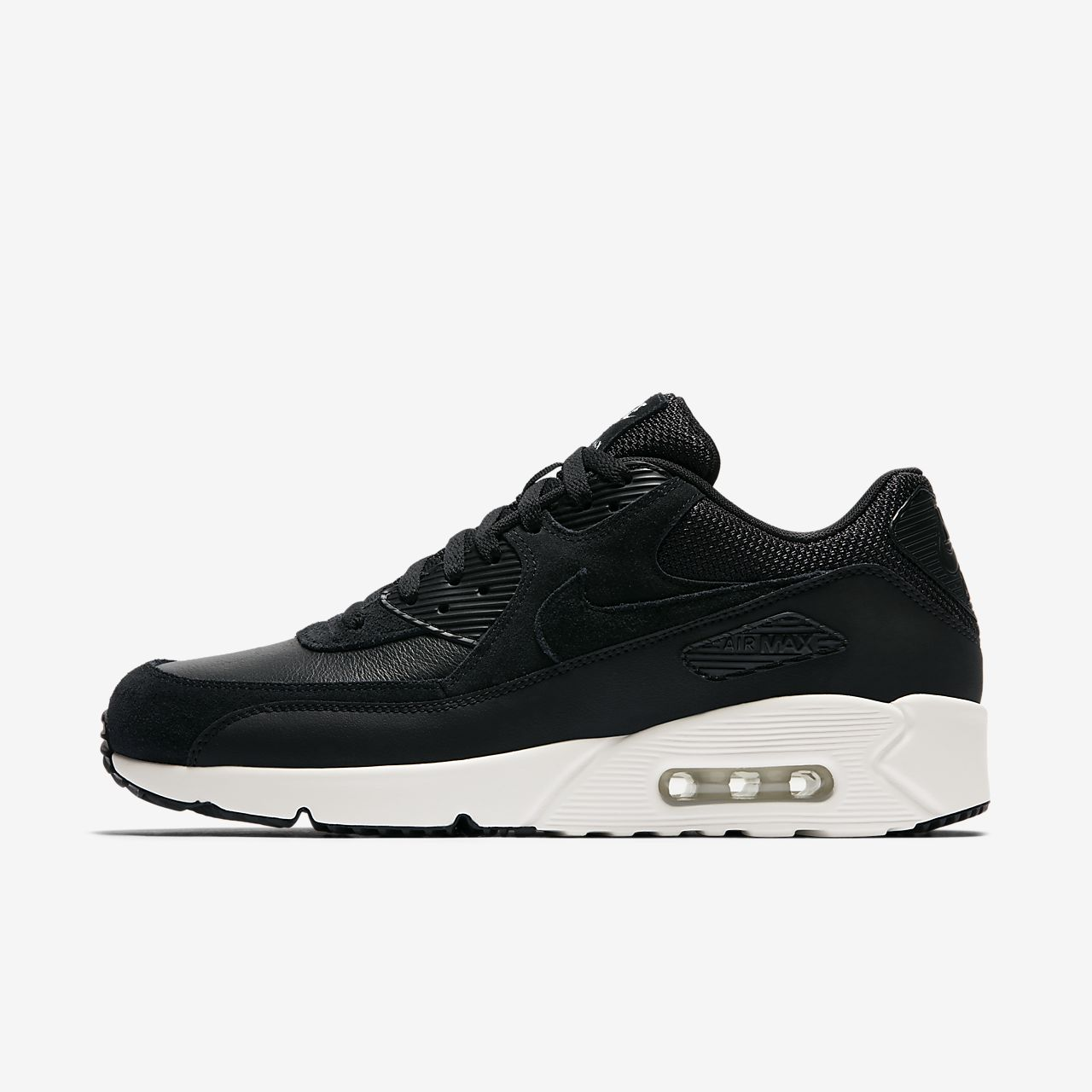 nike men's air max 1 ultra essential black white swoosh nz