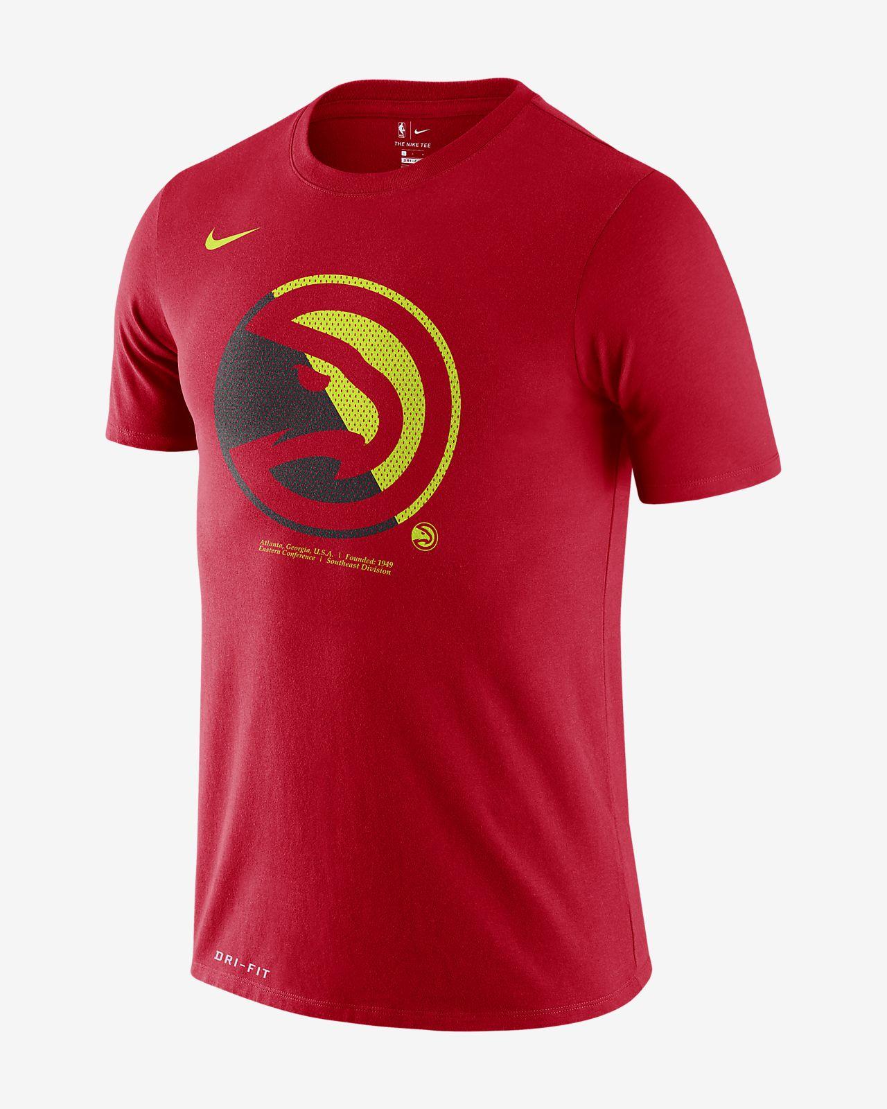 Tee-shirt NBA Atlanta Hawks Nike Dri-FIT pour Homme