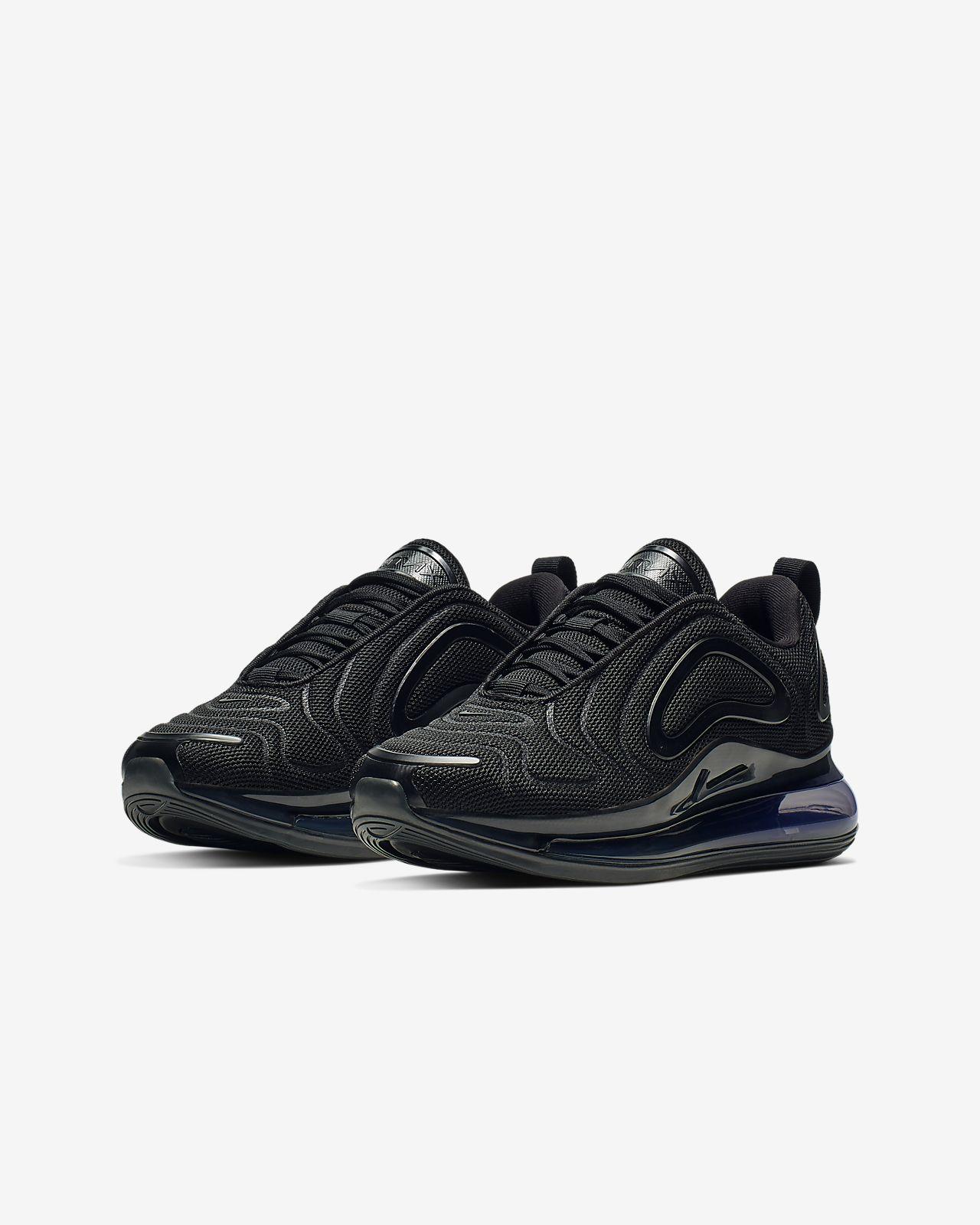 09741befa1 nike air max 720 black Nike Air Max 720 Little/Big Kids' Shoe.