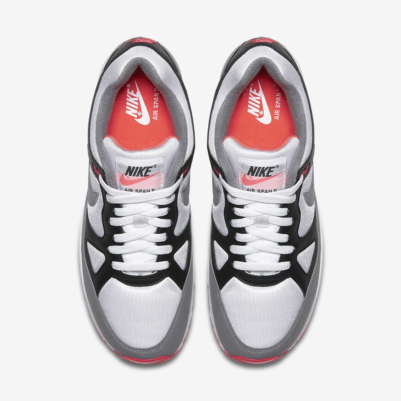 Kondisko Nike Kvinder Mænd Air Span Ii Sort Dust Nike