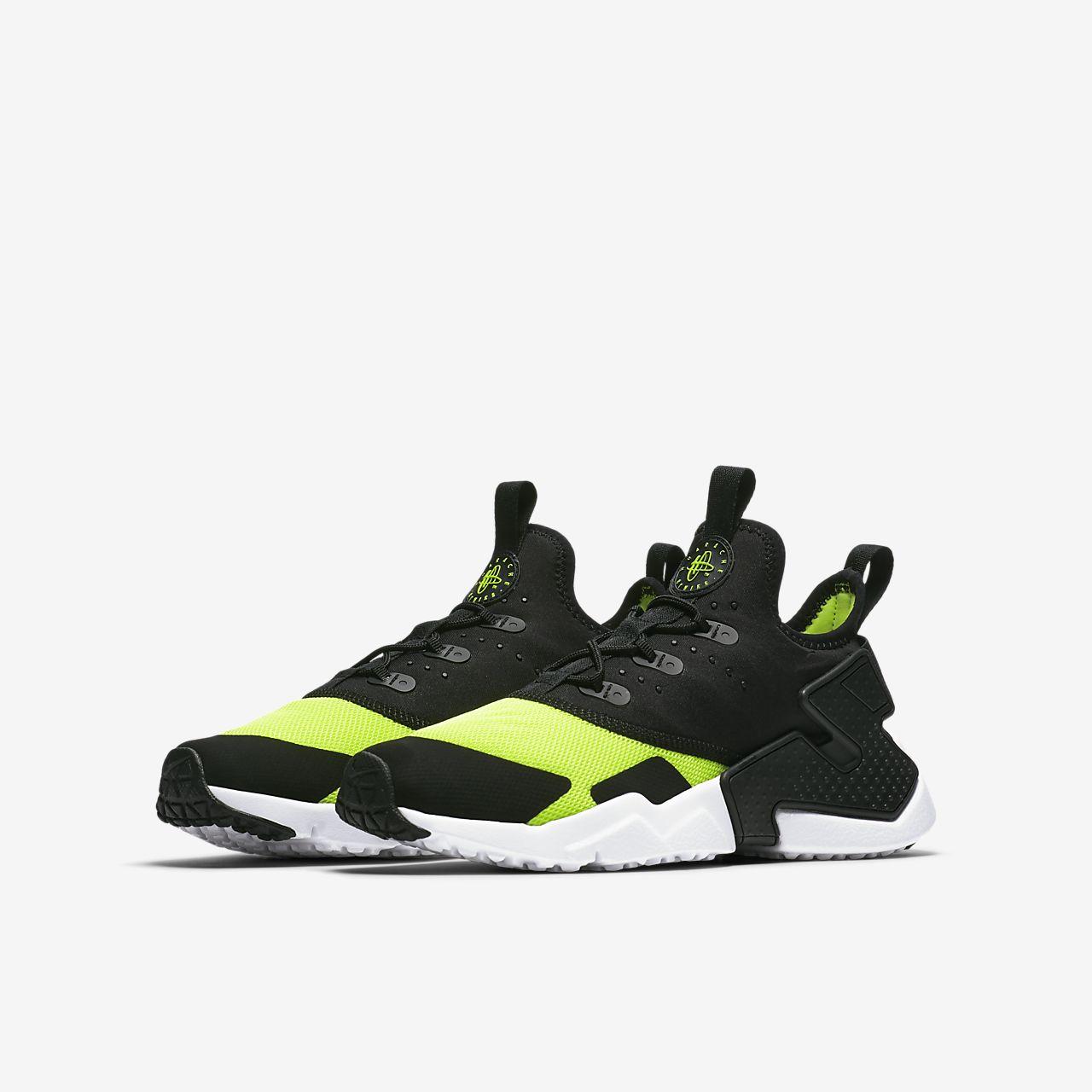 58b49a56caf9c Chaussure Nike Huarache Run Drift pour Enfant plus âgé ...