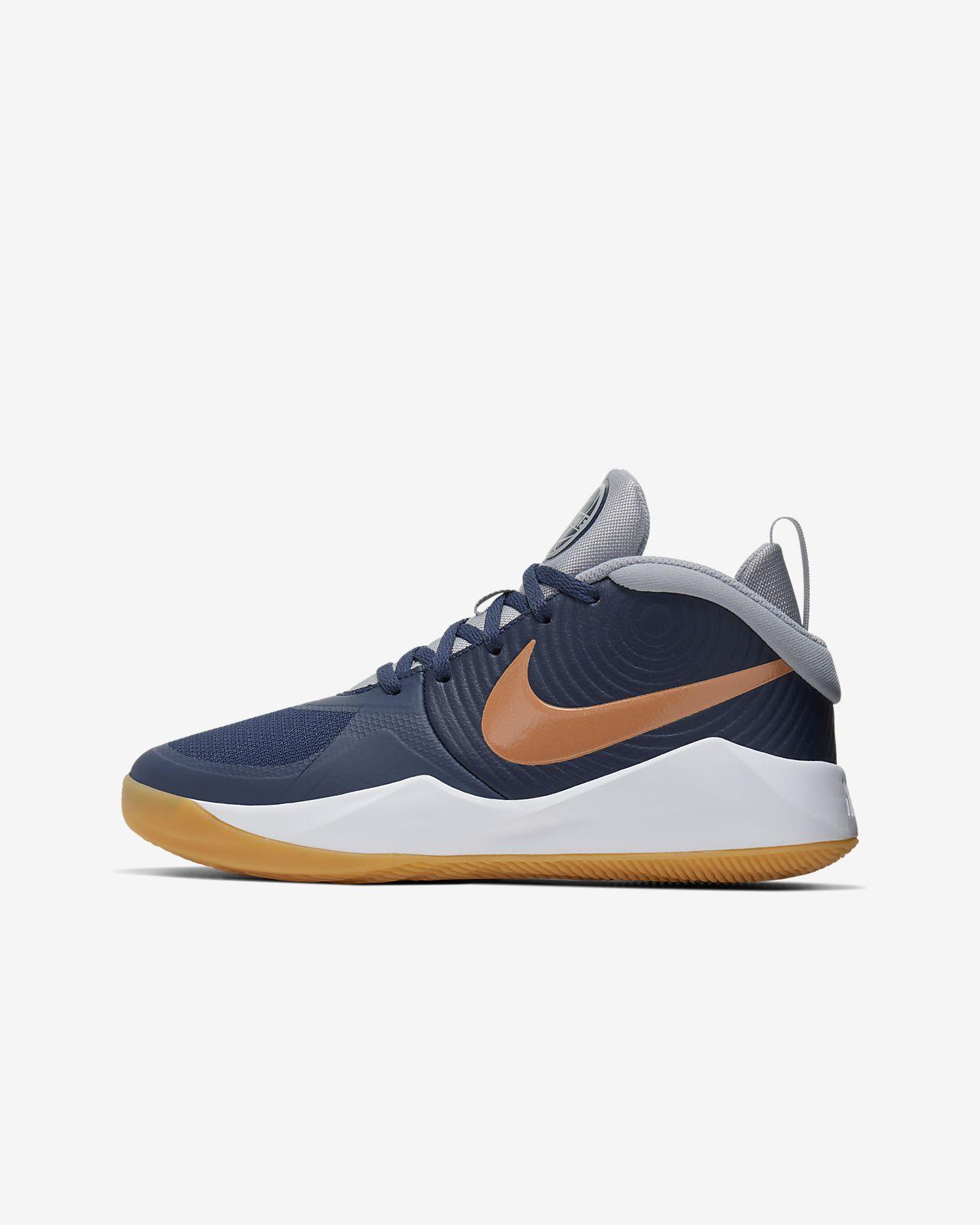 Παπούτσι μπάσκετ Nike Team Hustle D 9 για μεγάλα παιδιά