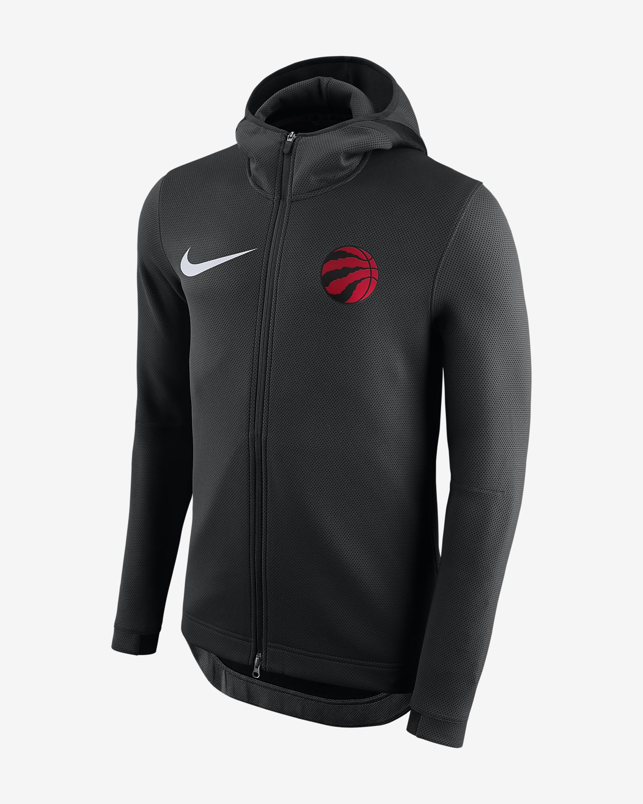 Toronto Raptors Nike Therma Flex Showtime-NBA-hættetrøje til mænd