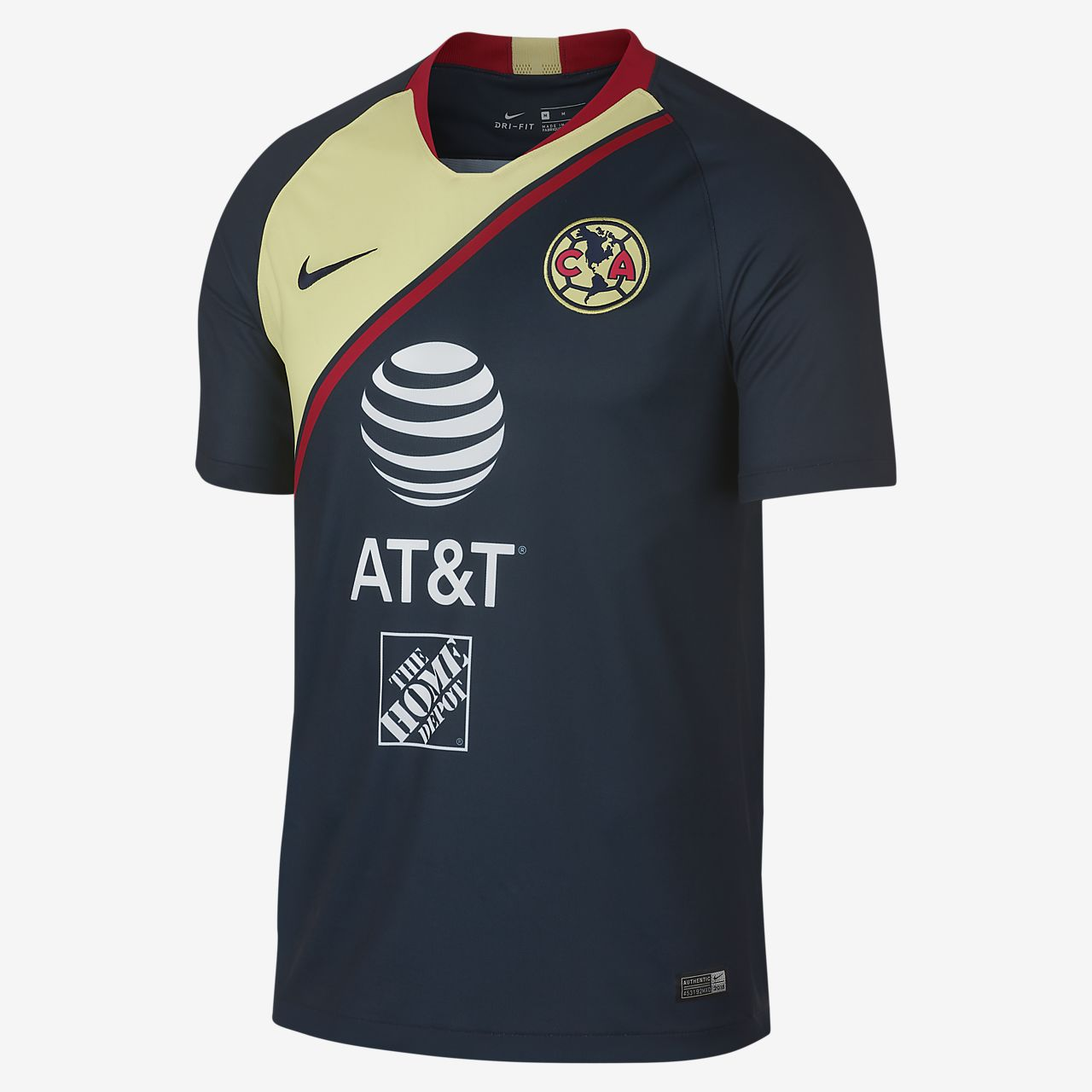 2018 19 Club America Stadium Away Men s Soccer Jersey. Nike.com c2643061e