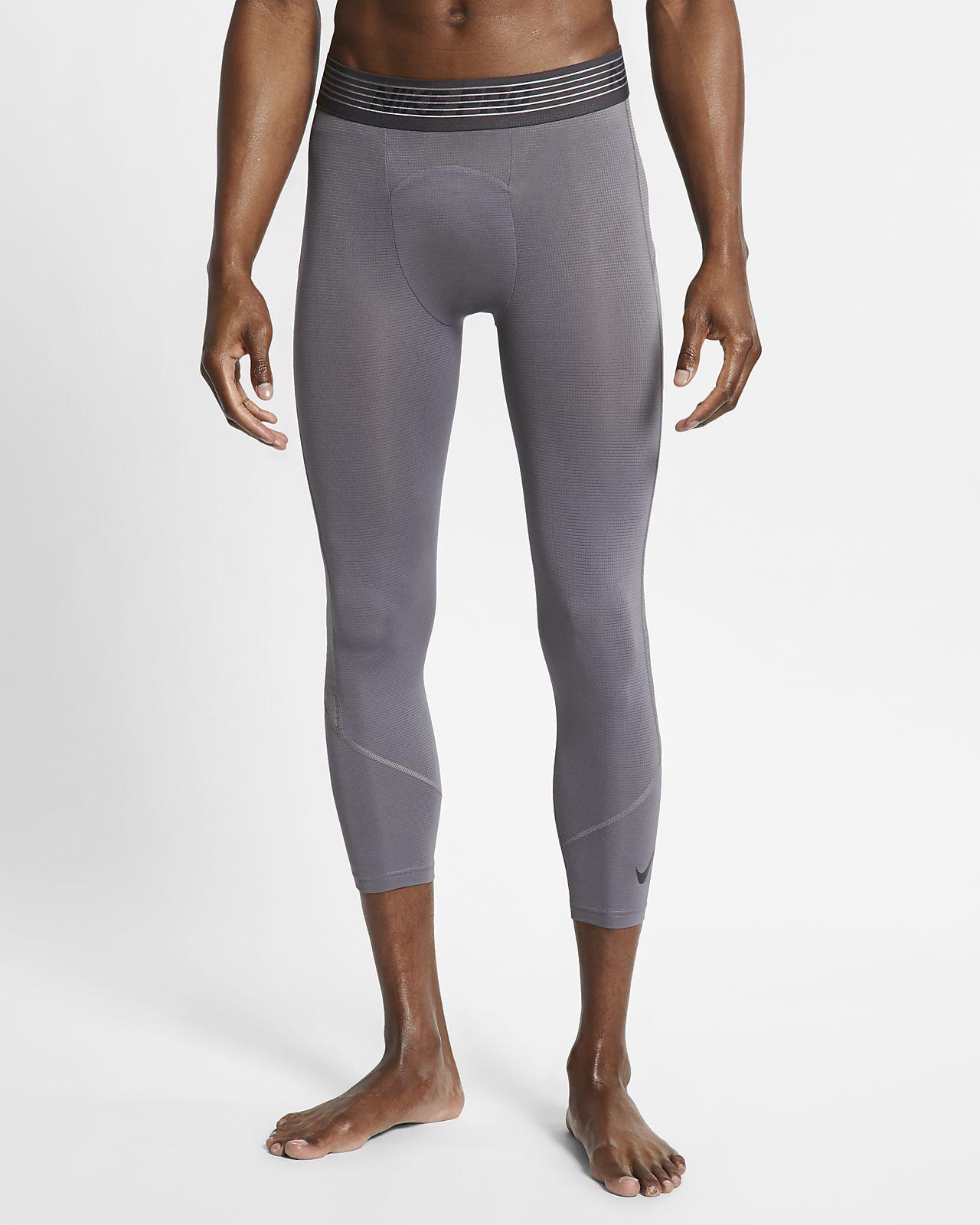 Nike Pro3/4 男子训练紧身裤