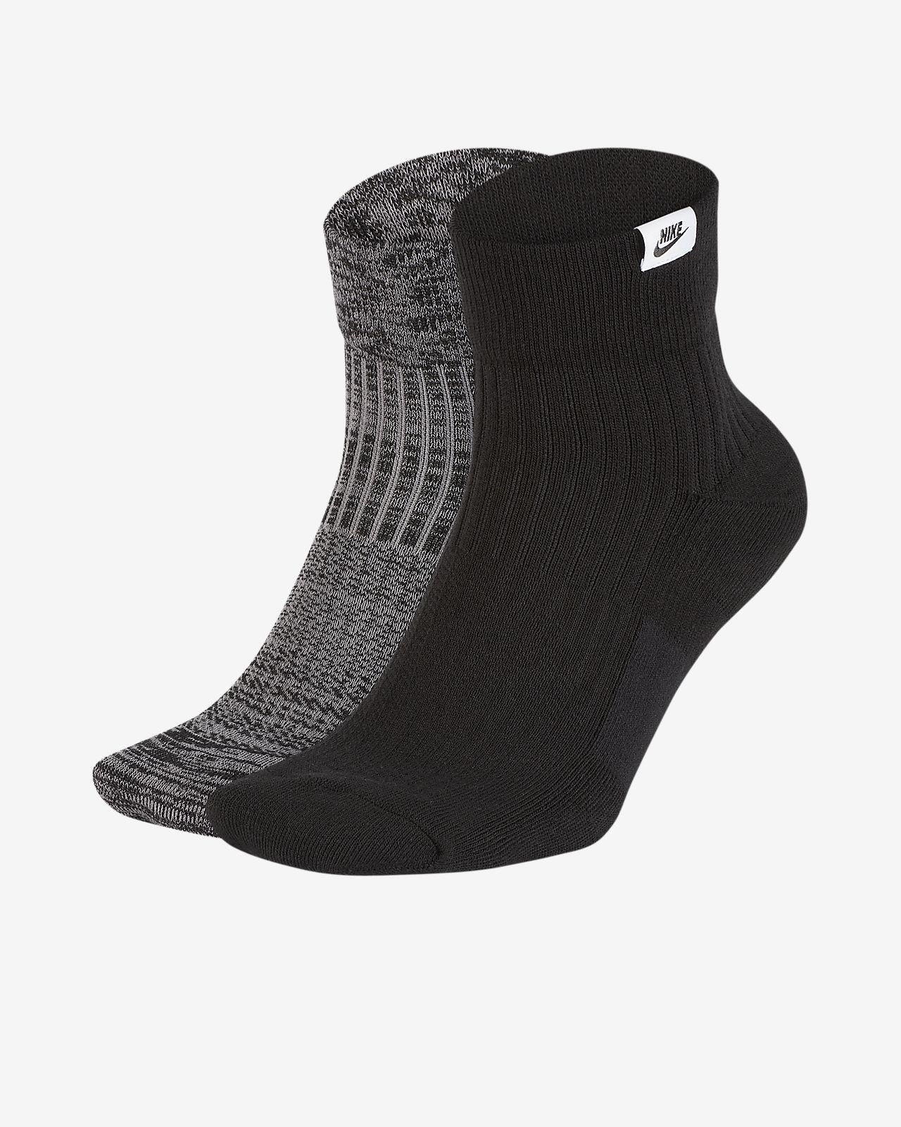 b2b64fb5f Nike SNKR Sox Quarter Socks (2 Pairs). Nike.com