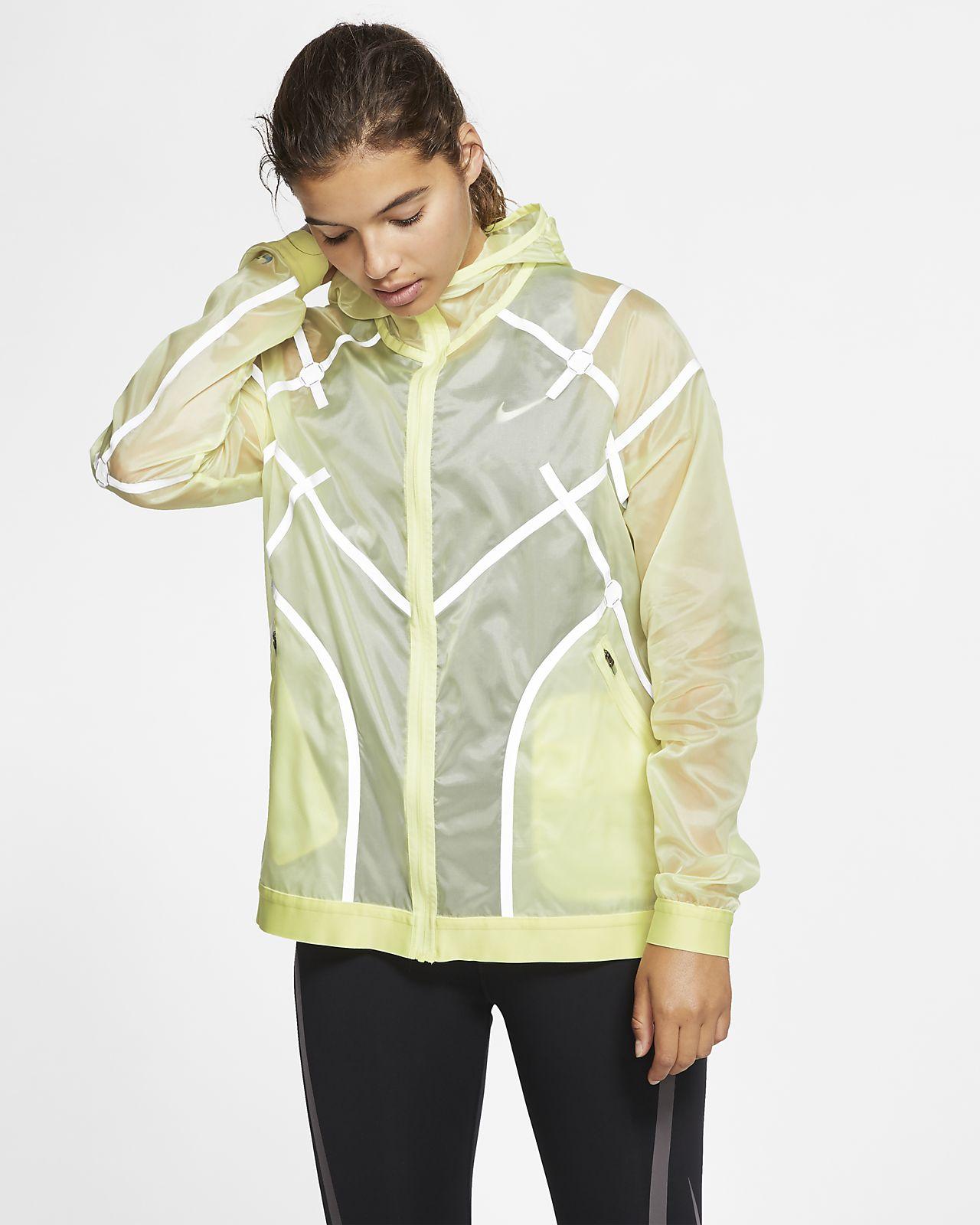 Chamarra de running con capucha para mujer Nike