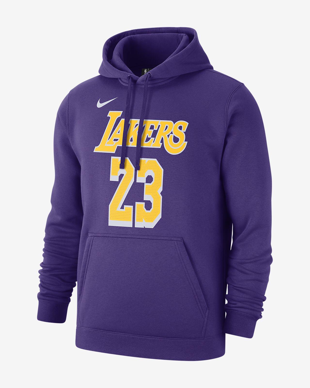 洛杉矶湖人队 (LeBron James) NikeNBA男子连帽衫