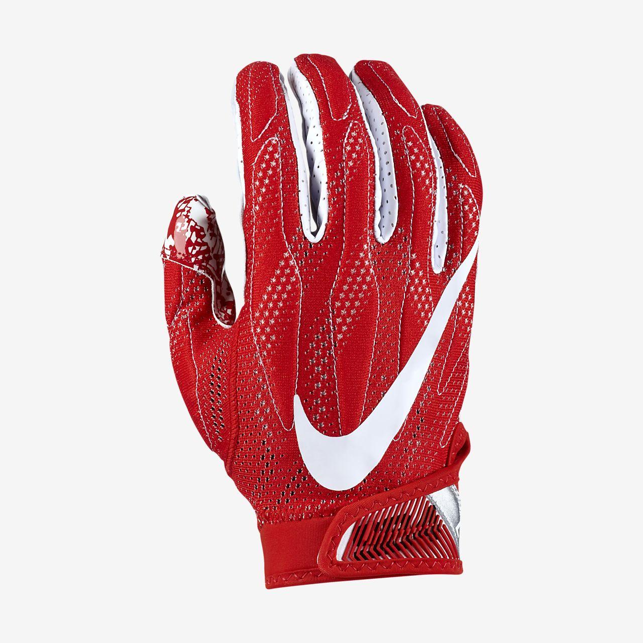 5688e9a2f62 red football gloves nike cheap
