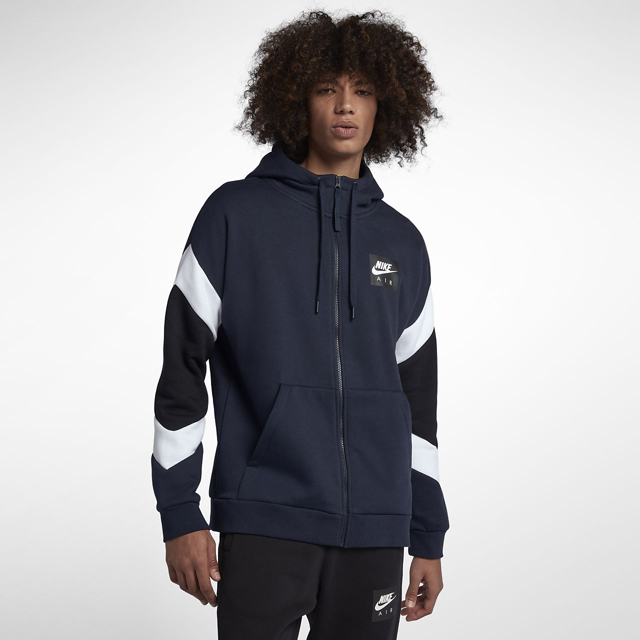 286c1e51862 ... Sudadera con capucha de cierre completo para hombre Nike Sportswear Air