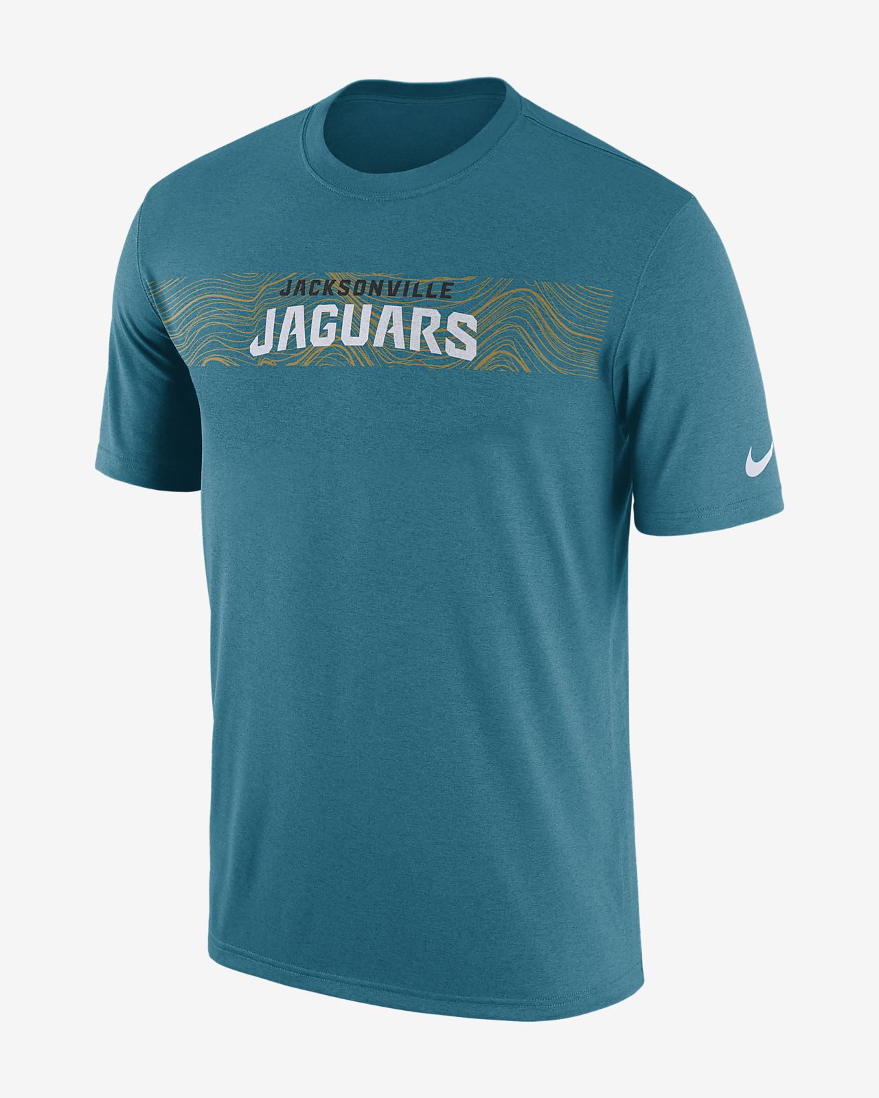 Мужская футболка Nike Dri-FIT Legend Seismic (NFL Jaguars)